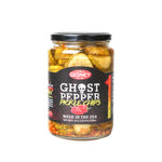 Gedney Black Label Ghost Pepper Pickle Chips - 24oz