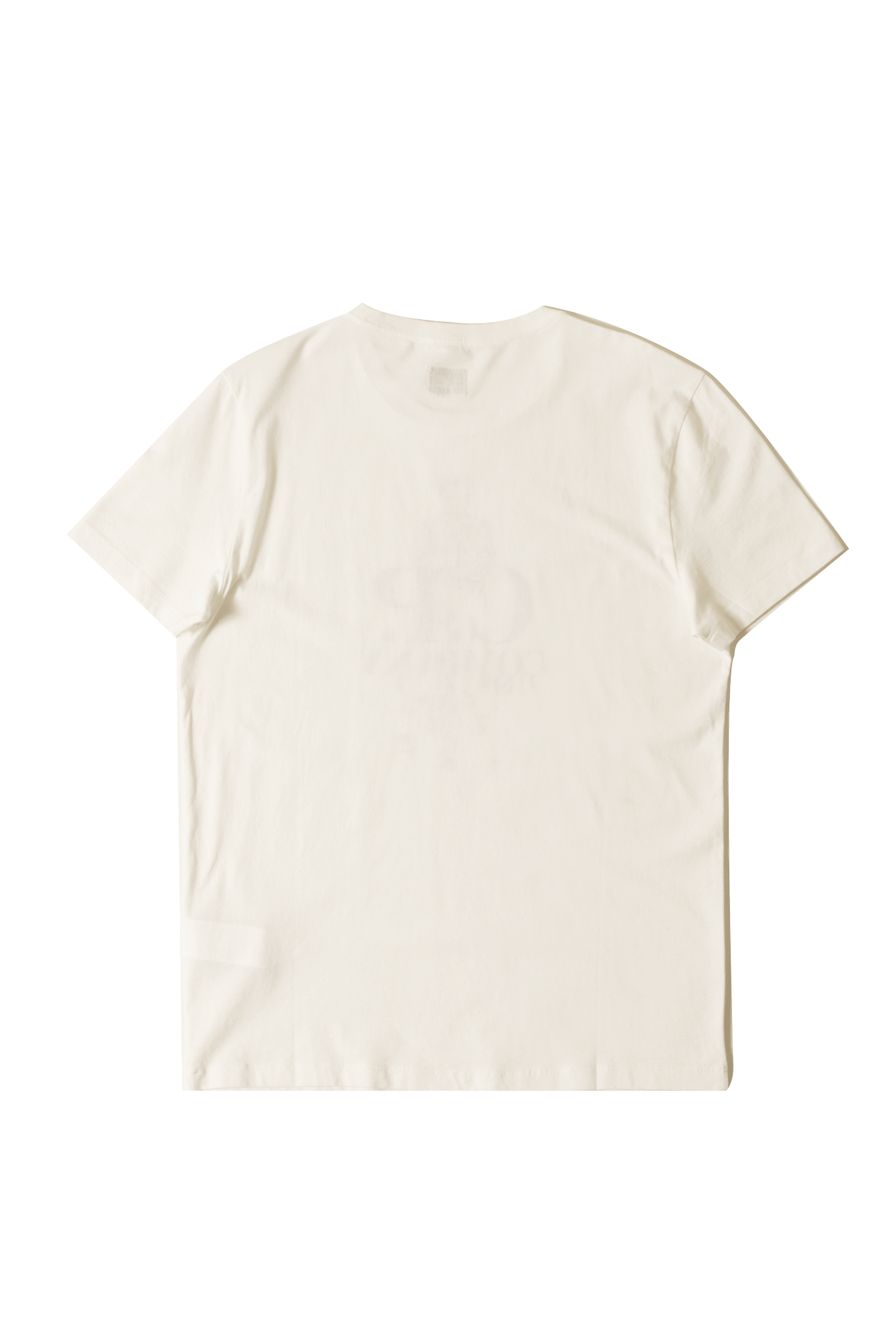 C.P. Company T-Shirts Short Sleeve T-Shirt White 071A005100#W000#WHT#XL - One Block Down
