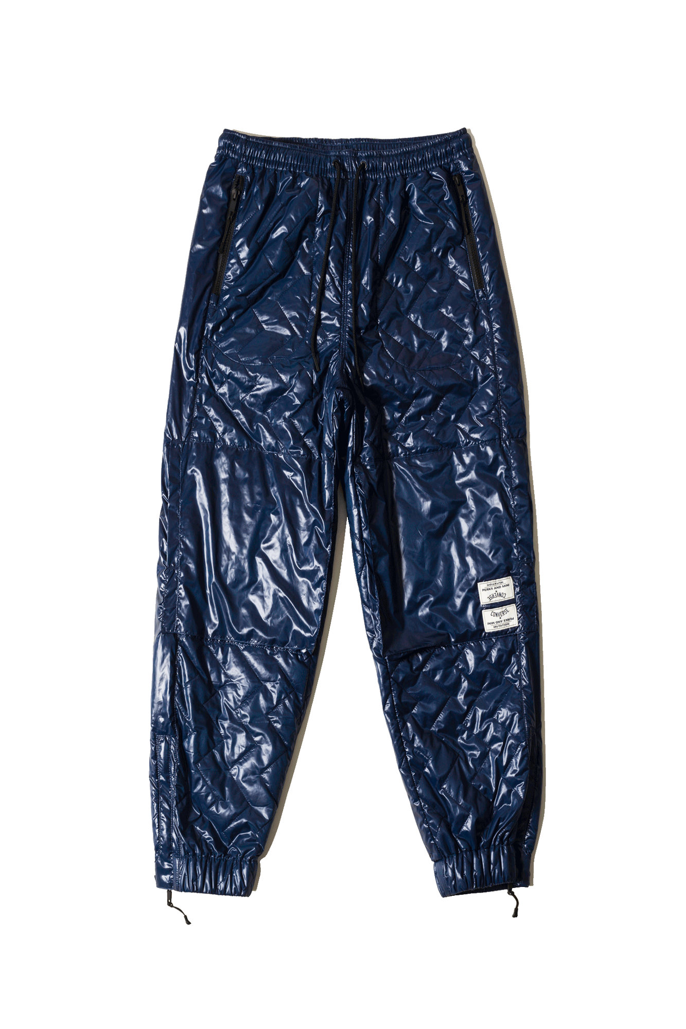 Quilted Track Pant x PAM Blue
