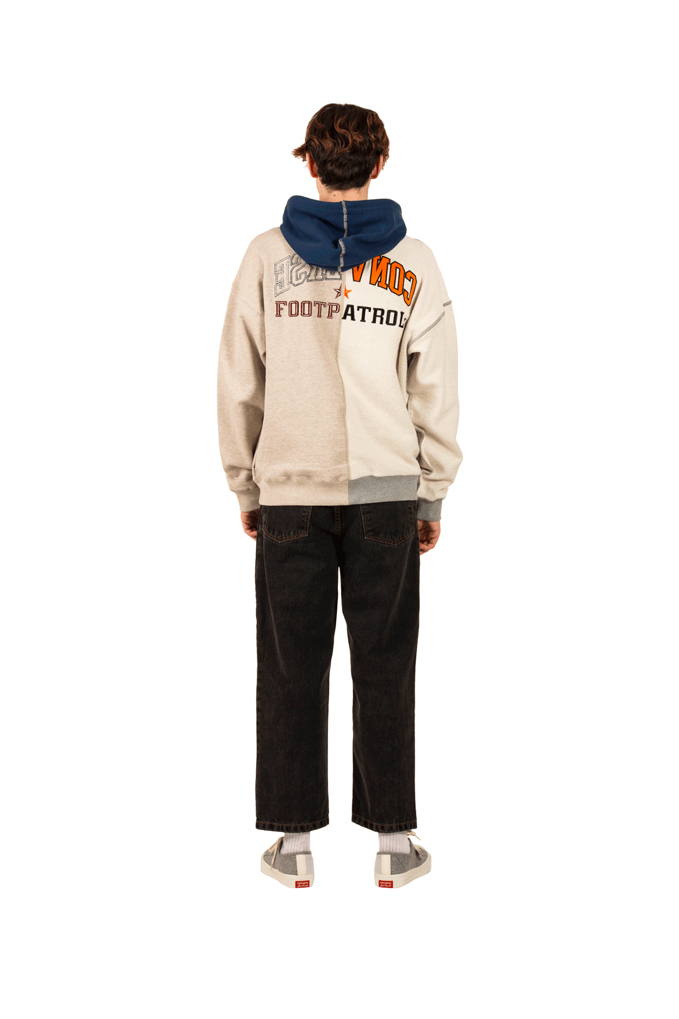 Converse Sweaters Pullover Heater X Footpatrol Brown 10017721#000#121#S - One Block Down