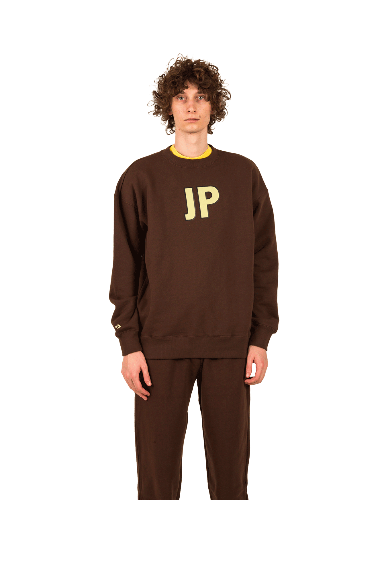 Converse Sweaters Crew Sweatshirt X ASAP NAST Brown 10017741#A02#267#L - One Block Down