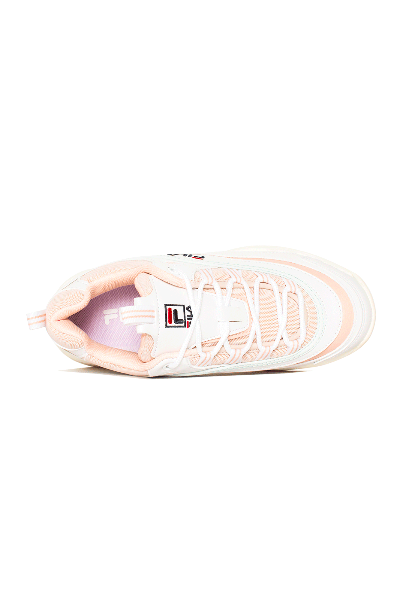Fila Sneakers Ray Low Woman White 1010562#000#02Y#6 - One Block Down