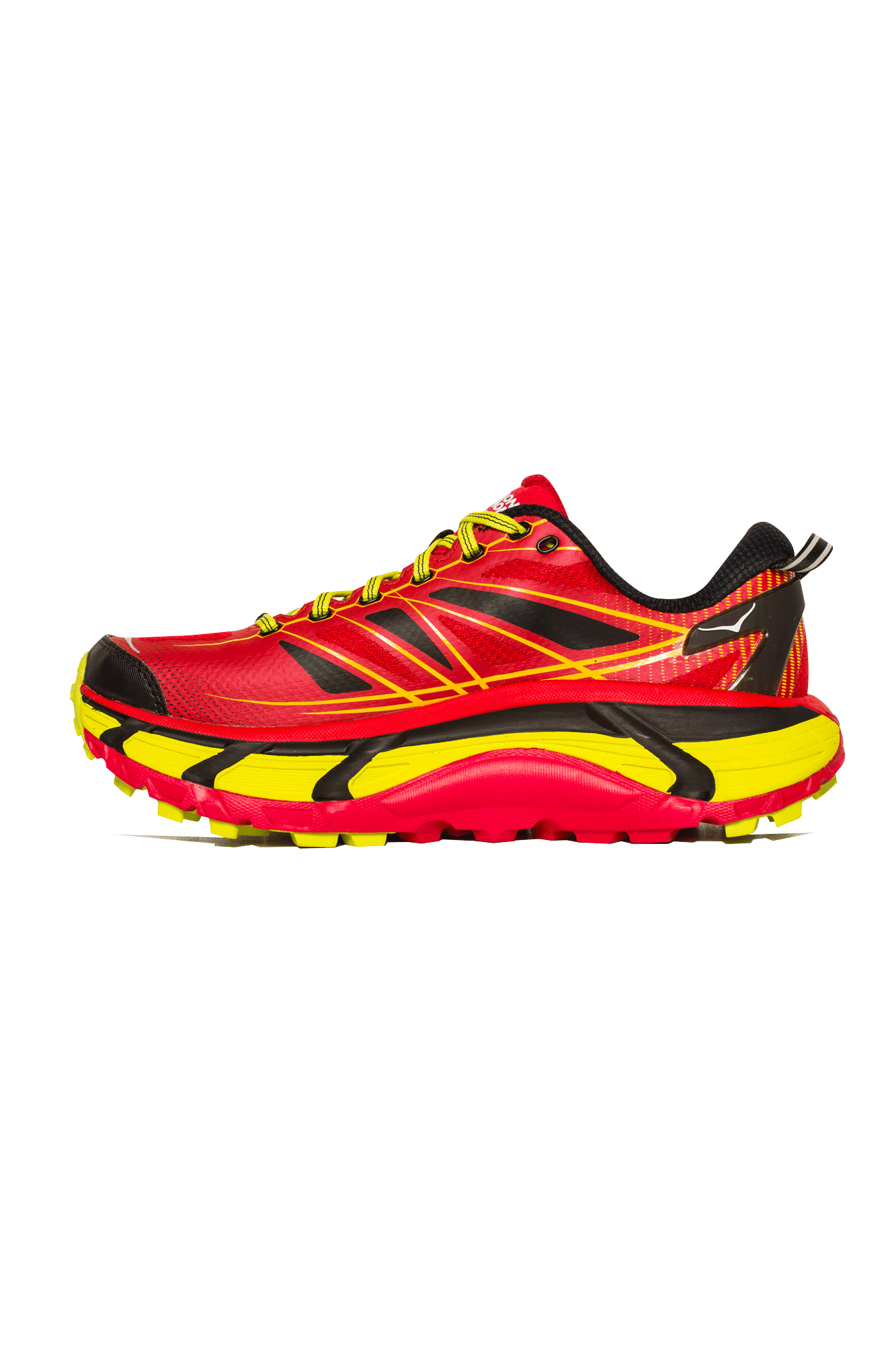 Hoka One One Trainers Mafate Speed 2 Men's Red 1012343T#000#RCT#8 - One Block Down