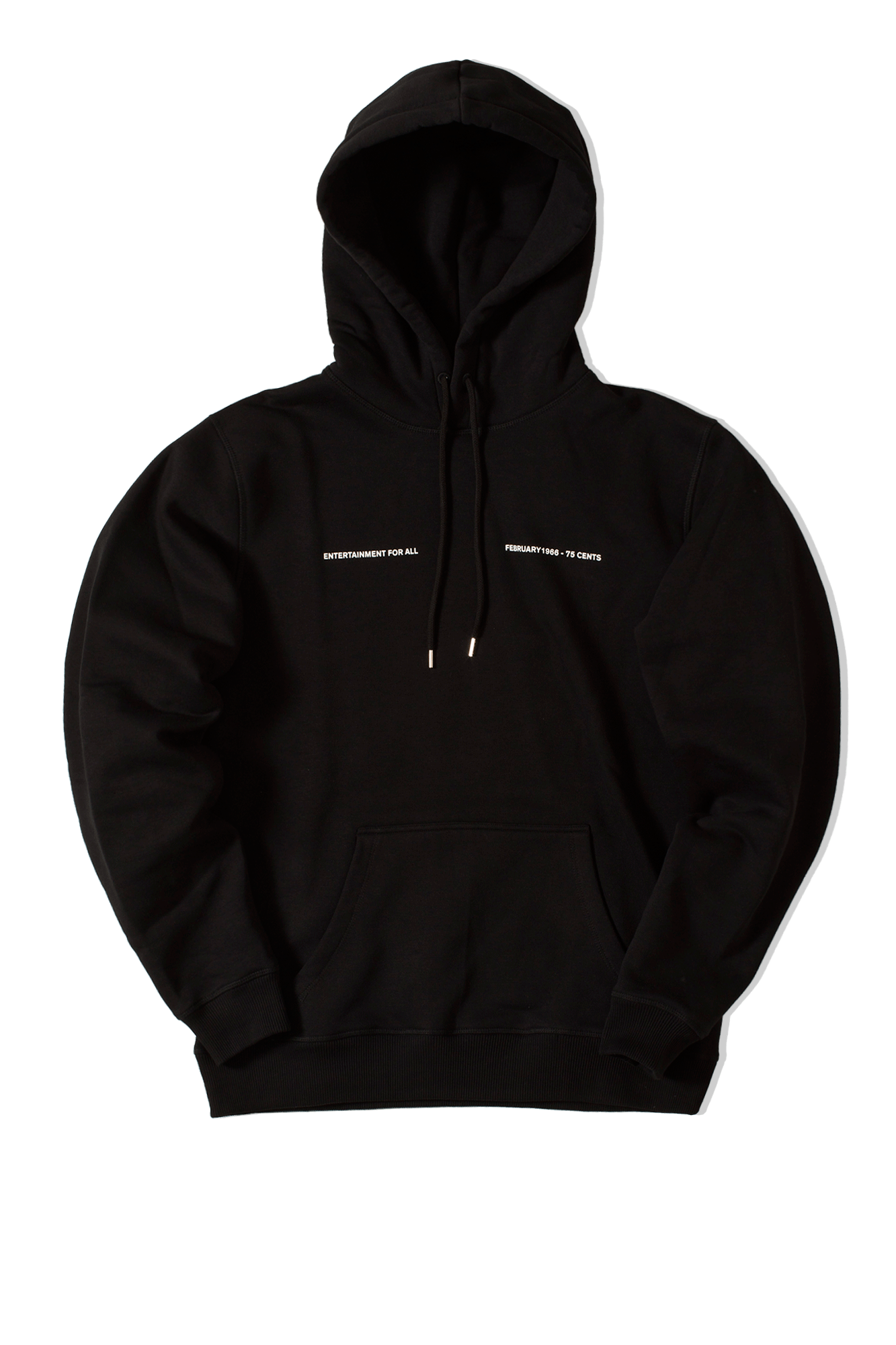 Monthly February Hooded Sweat Black