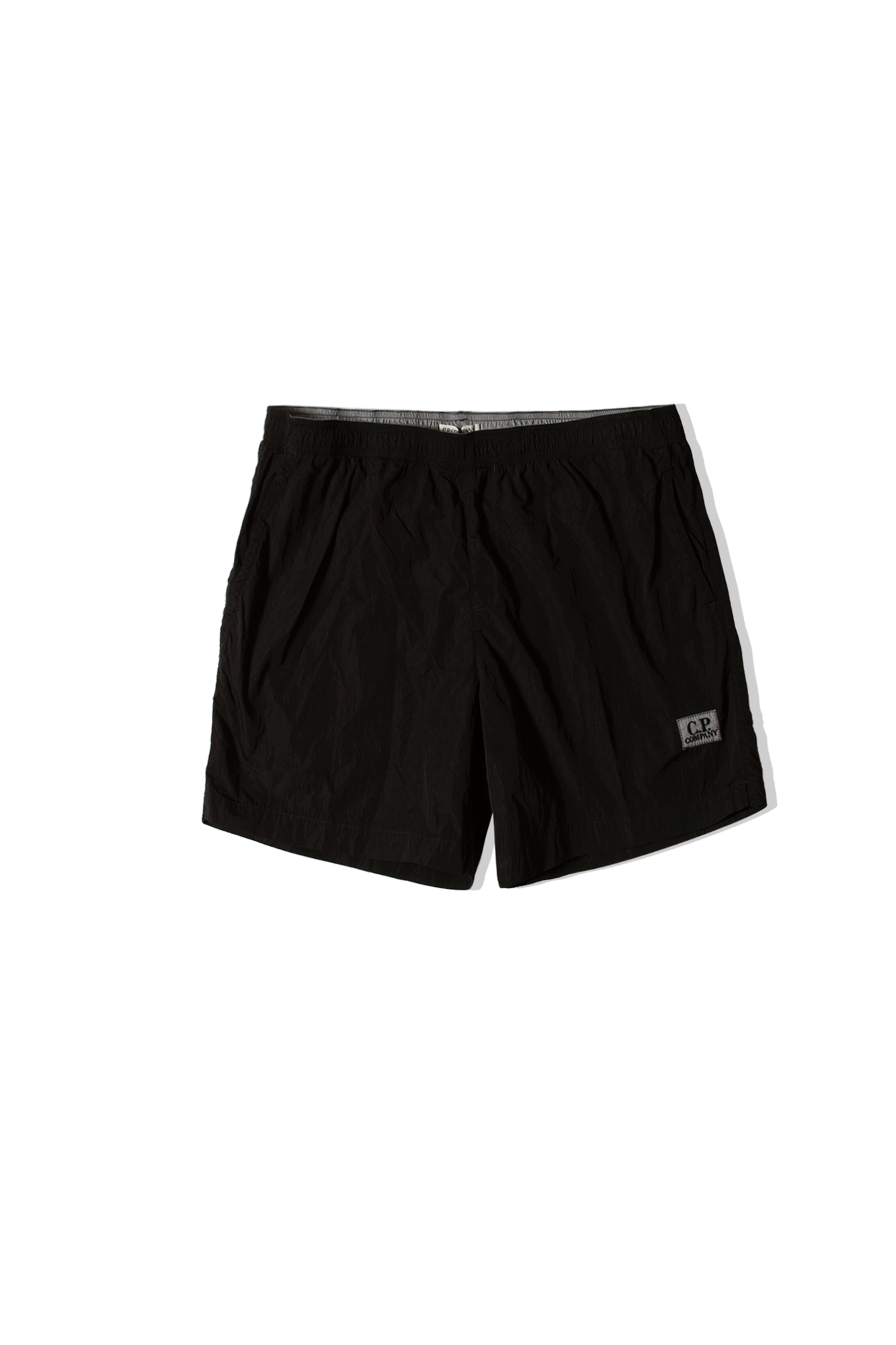 Chrome GD Logo Patch Swim Short Black