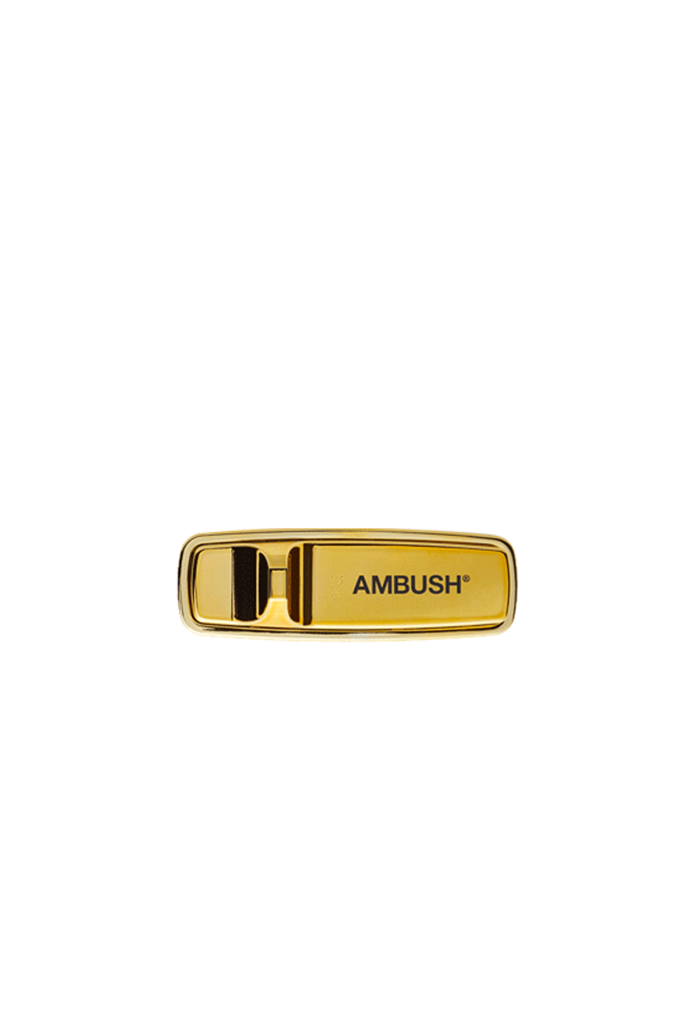 Ambush Goods SECURITY TAG PIN Gold 12111913#000#C0004#OS - One Block Down