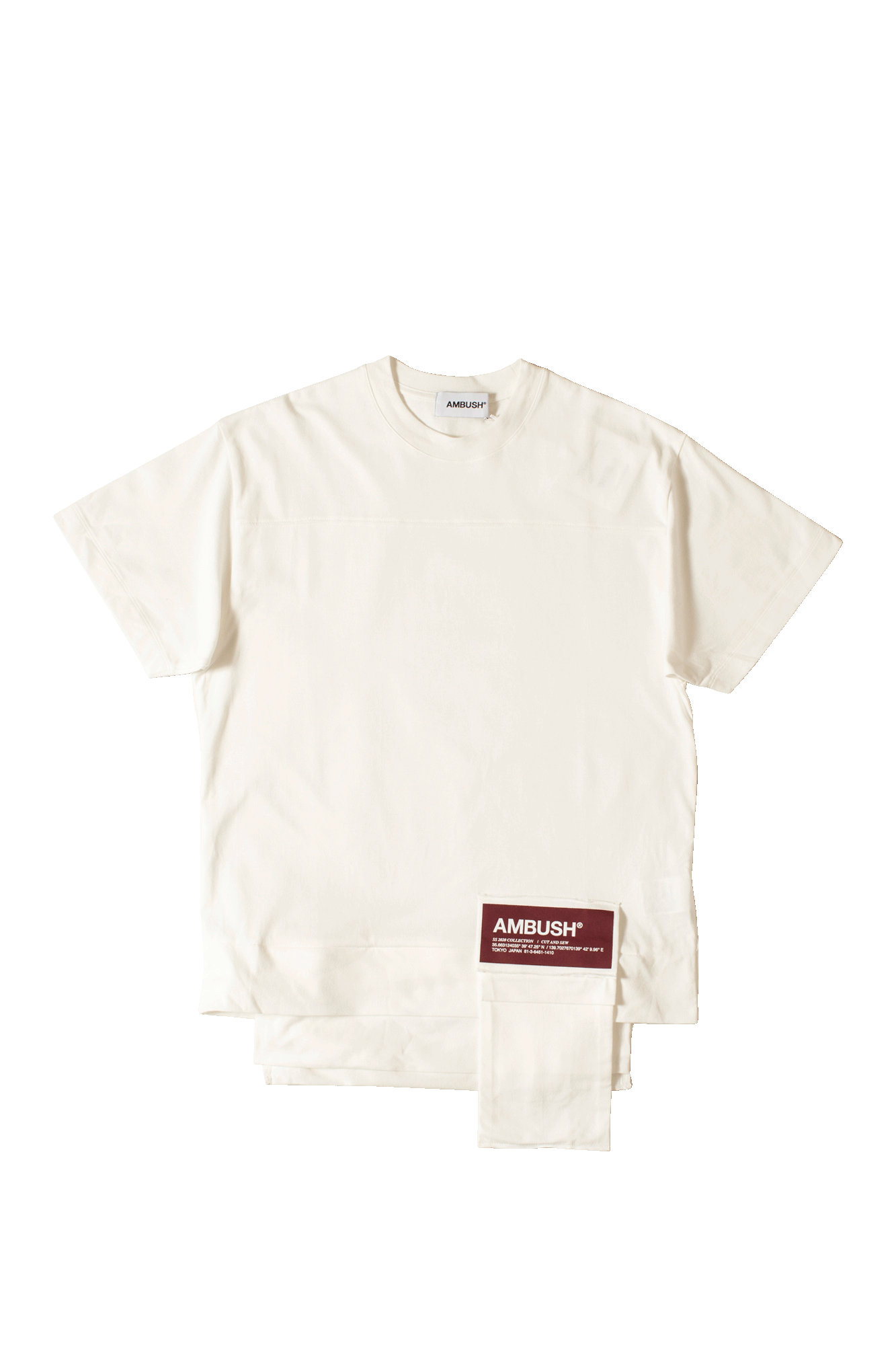 New Waist Pocket T-Shirt White
