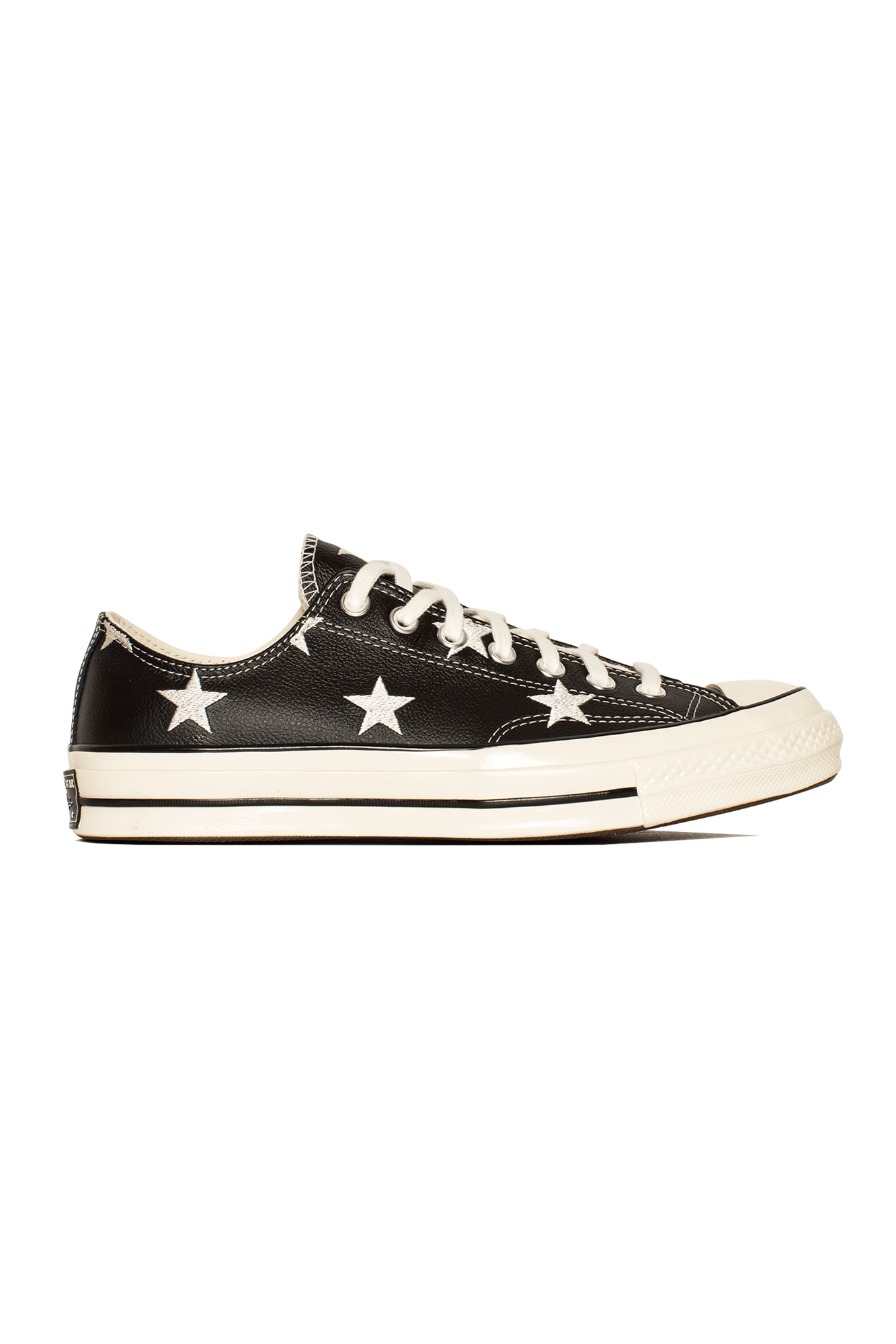 Chuck 70 Archive Print Leather Black