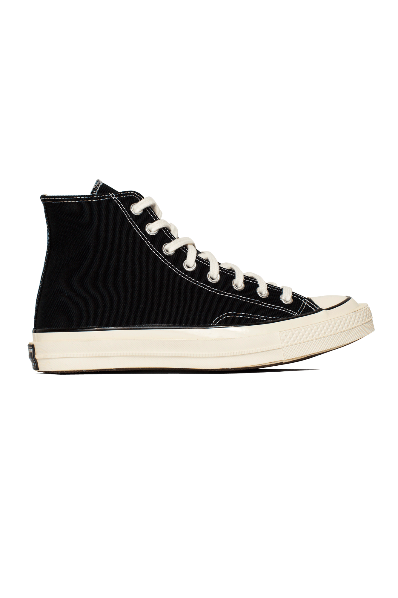 "Converse Sneakers Chuck 70 Canvas LTD Hi ""Double Foxing"" Black 169145C#000#001#4 - One Block Down"