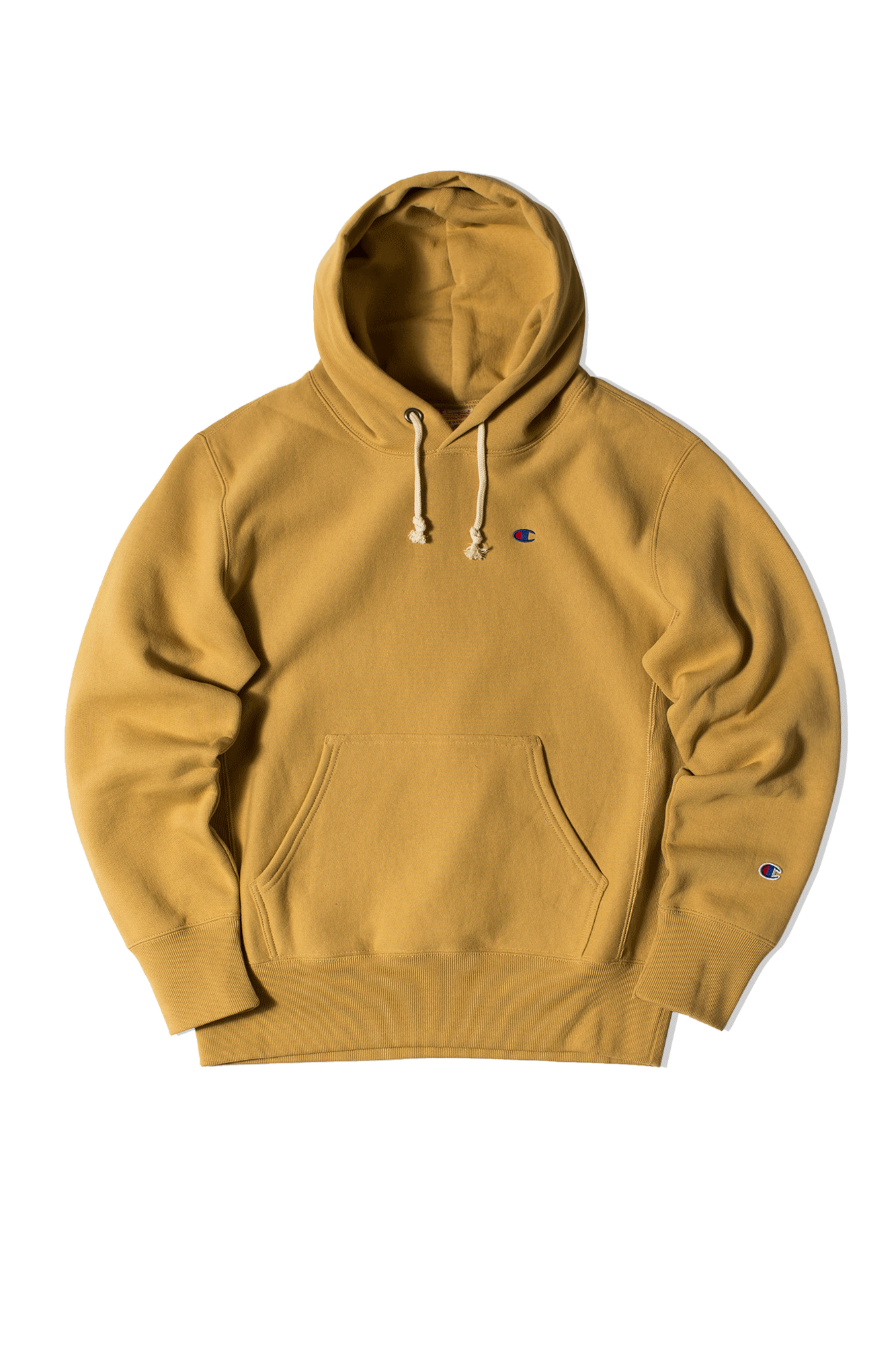 Hooded sweatshirt Yellow