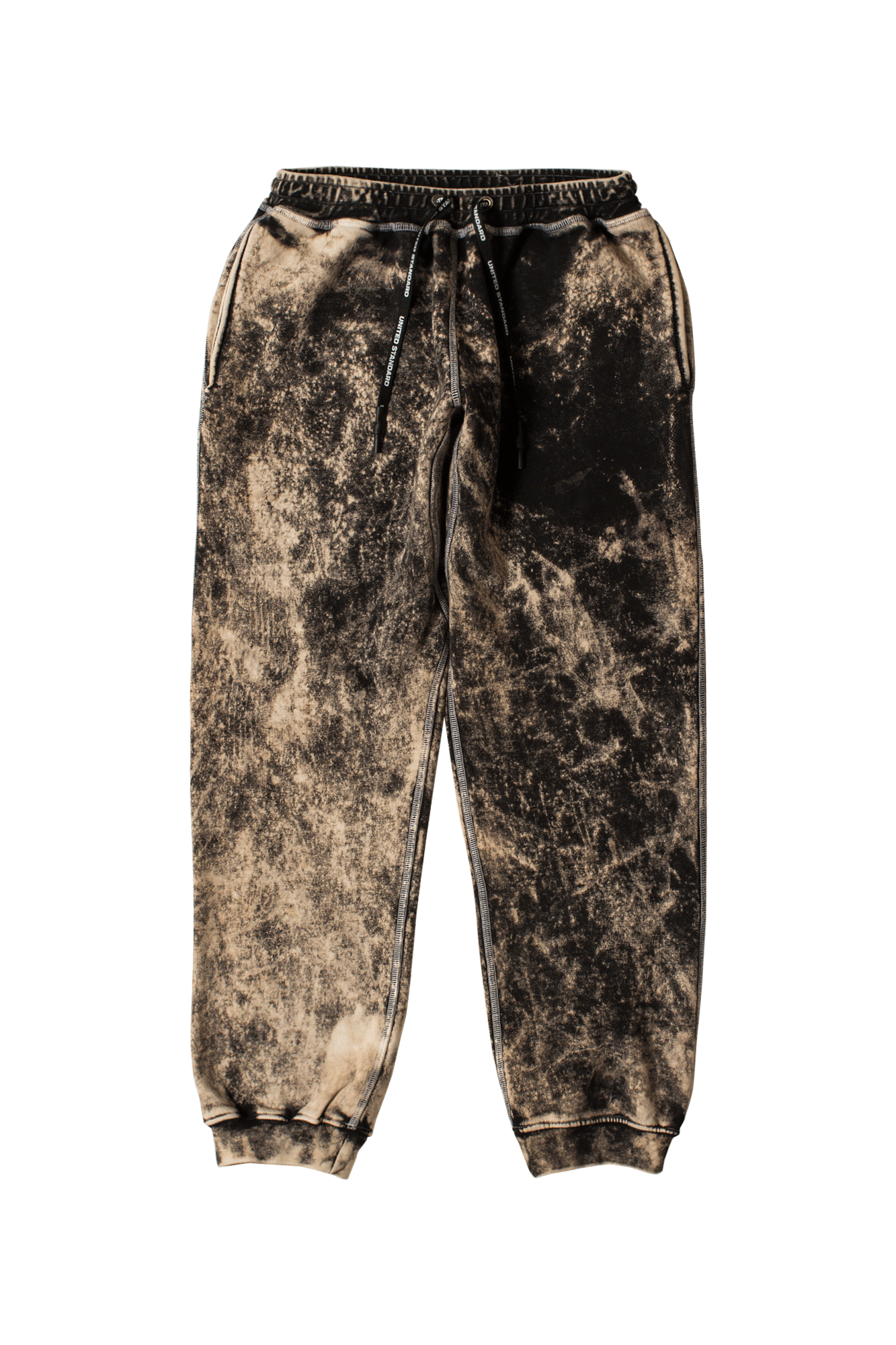 Glitch Logo Pants Black