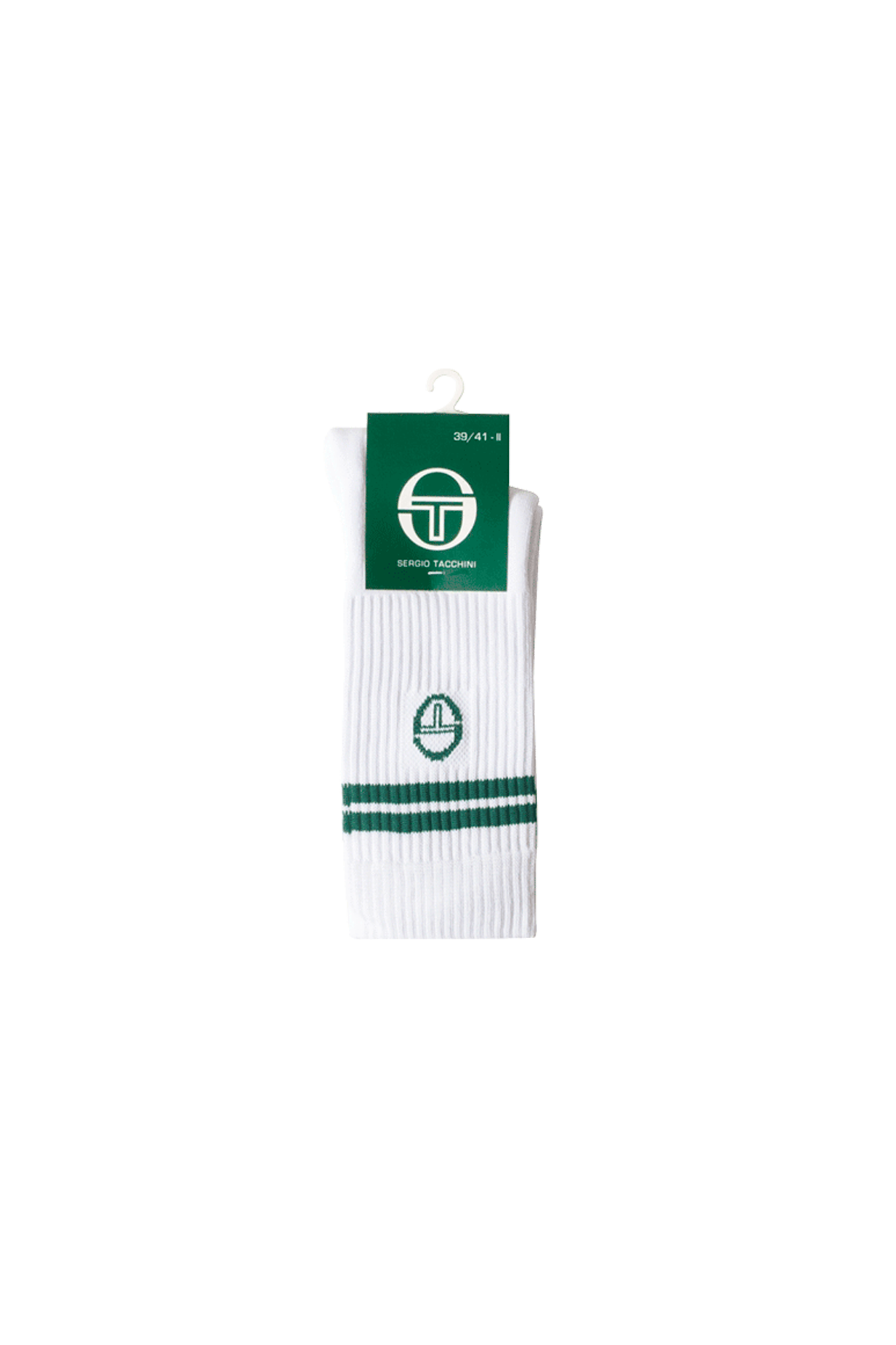 Sergio Tacchini Socks Supermac Socks White 37884101#000#C0006#XS/S - One Block Down
