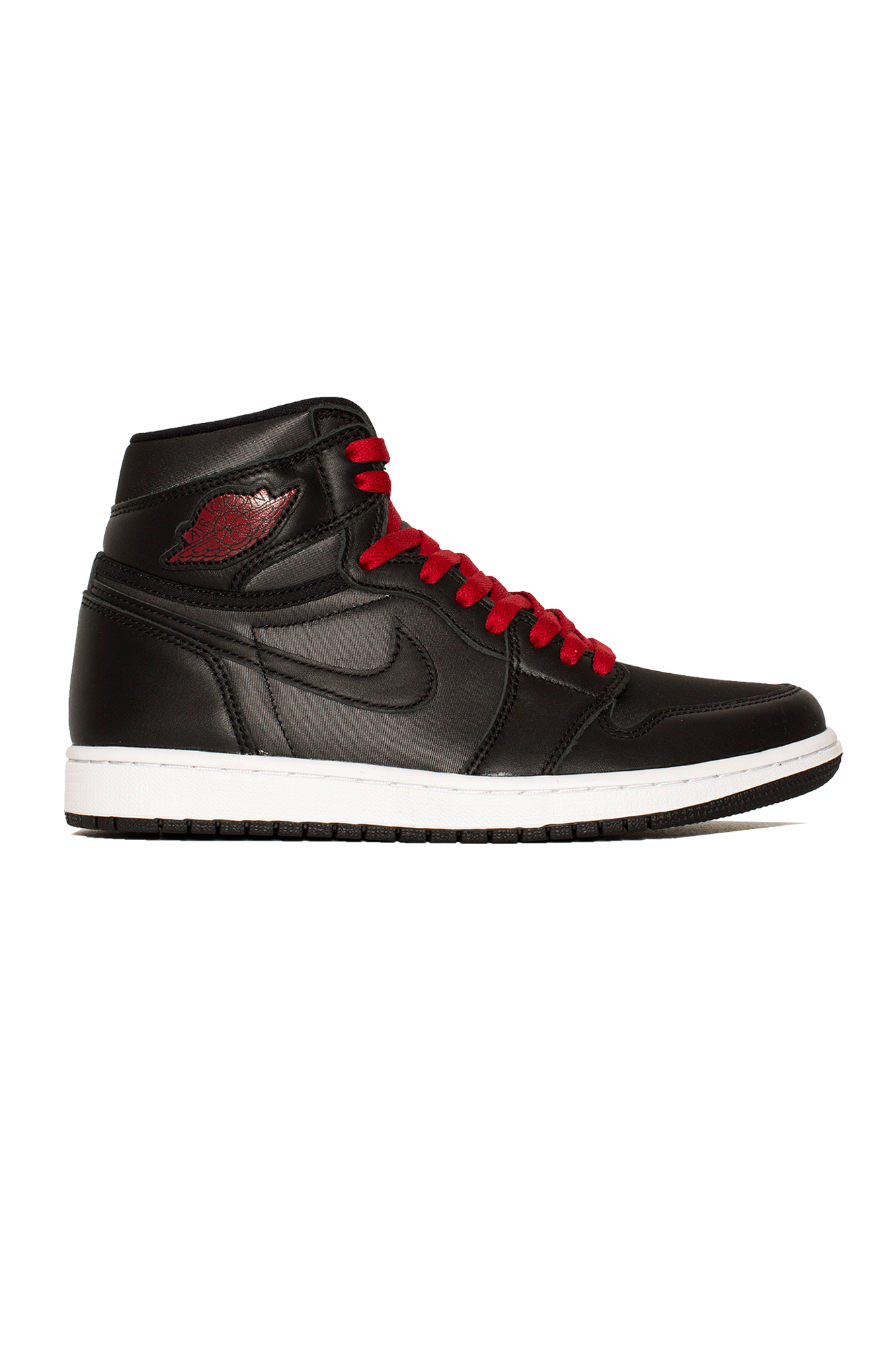 "1 Retro High OG ""Black Satin"" Black"