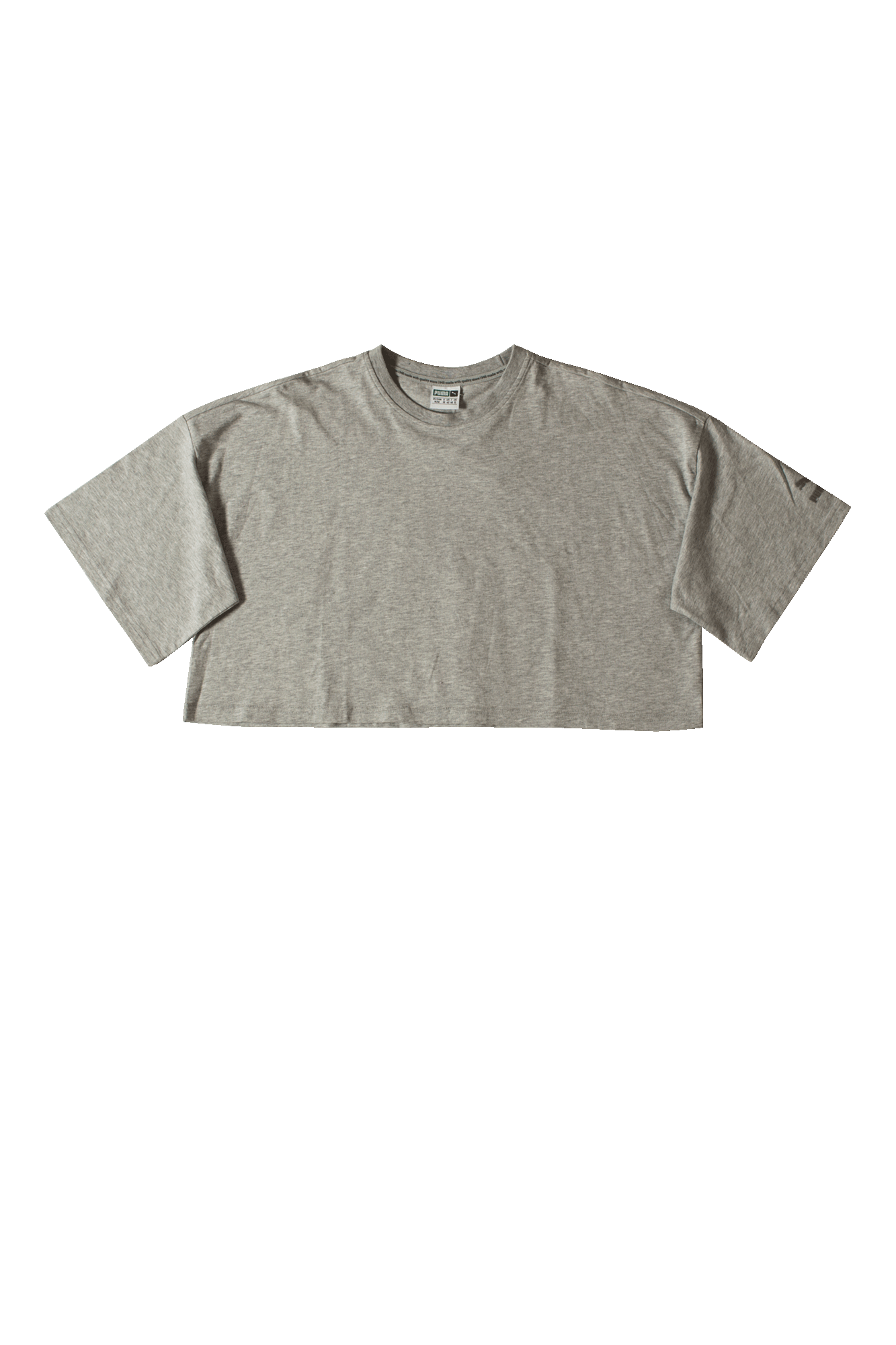 Xtreme Cropped T-Shirt Grey