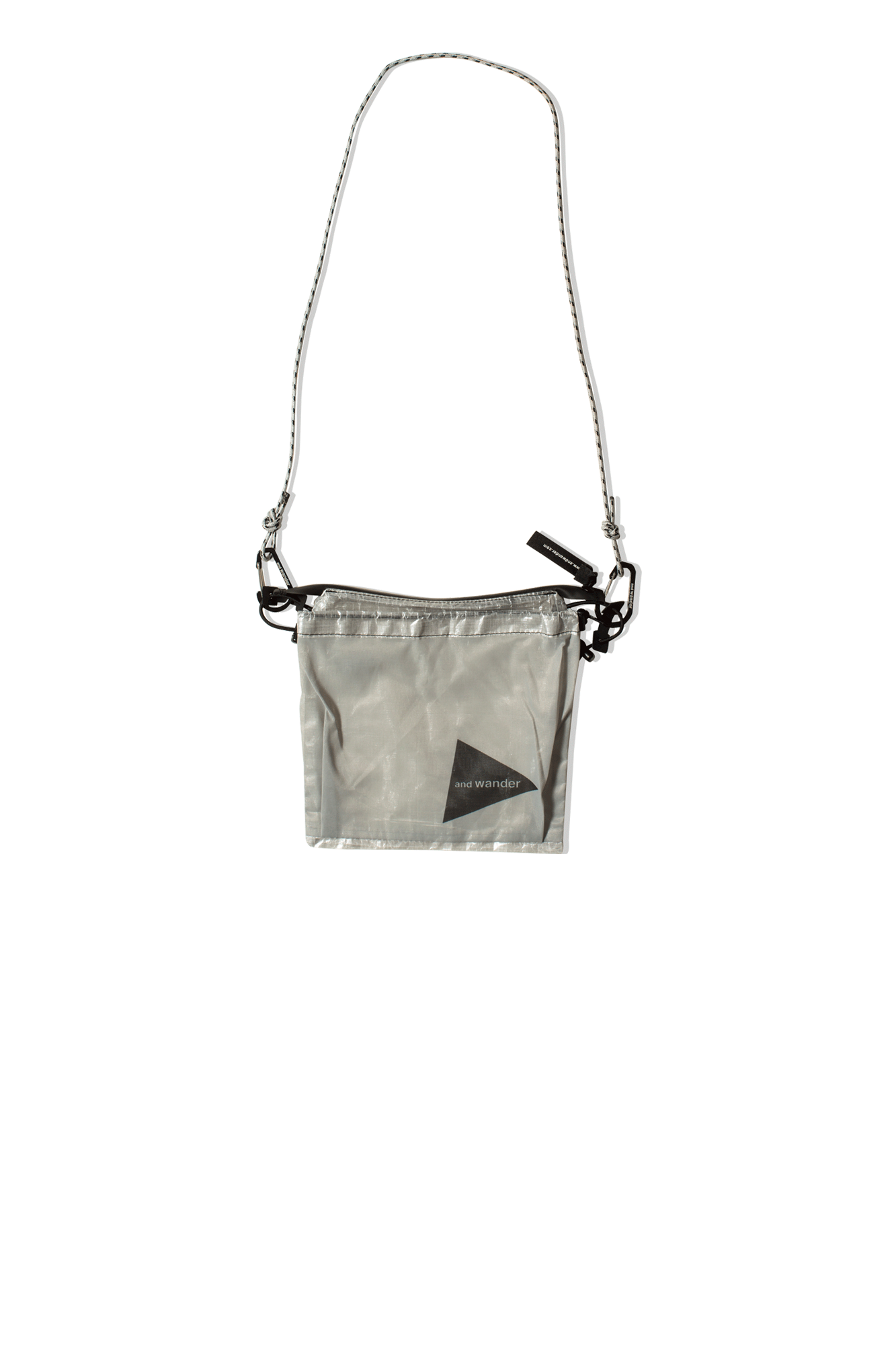 And Wander Shoulder bags Dyneema Sacoche White 5740975527#000#WHT#OS - One Block Down