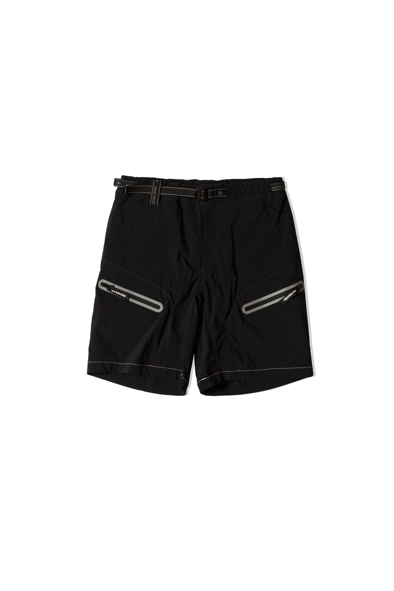 And Wander Shorts Light Hike Short Pants Black 5741152046#000#010#3 - One Block Down