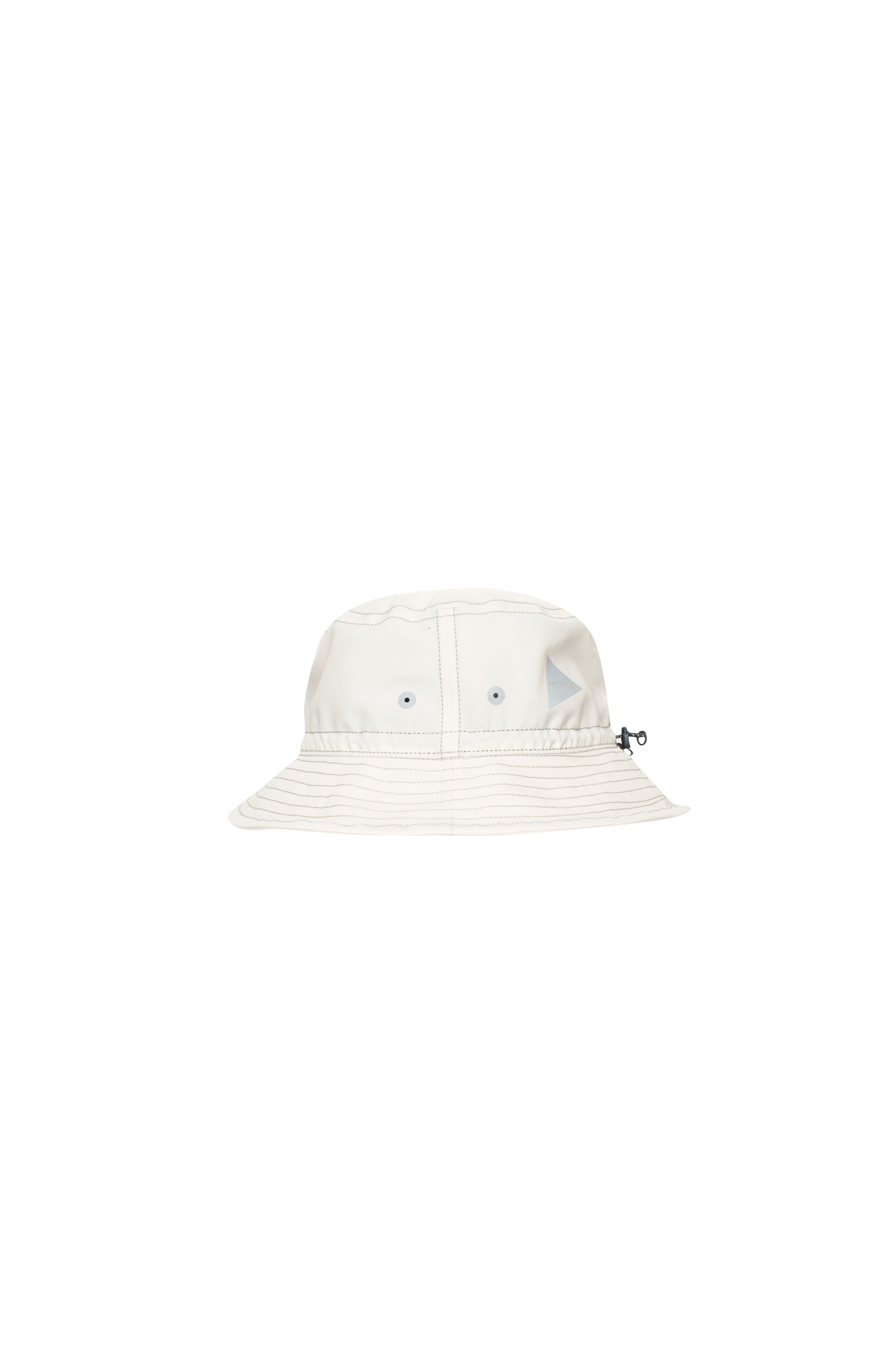 And Wander Hats PE/CO Hat White 5741986539#000#031#OS - One Block Down