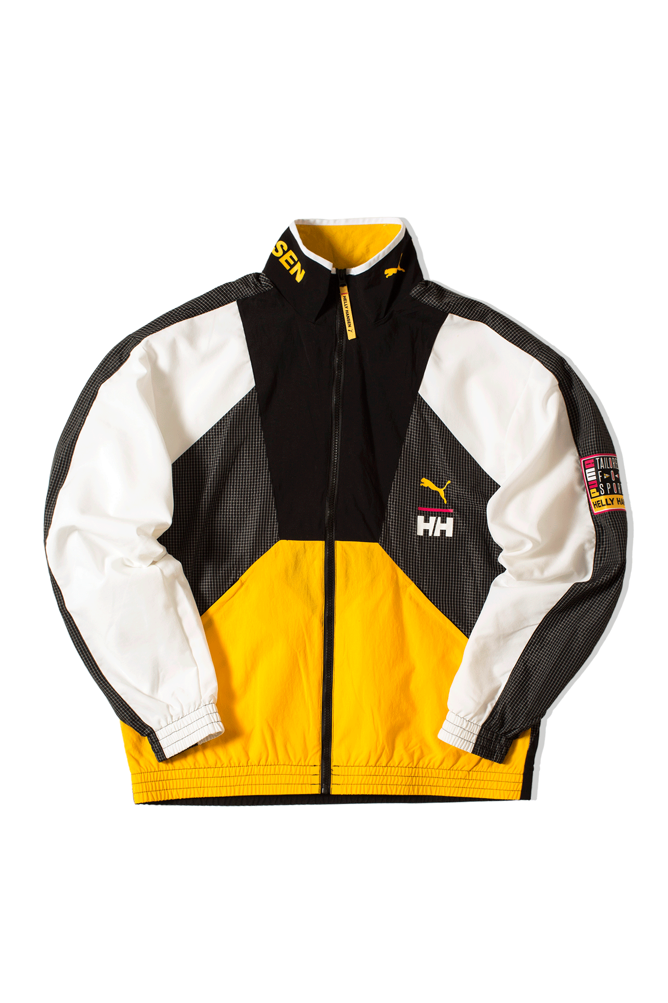 Track Top x Helly Hensen Yellow