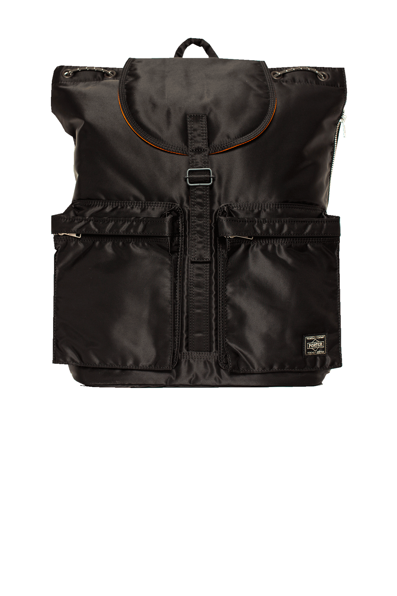 Porter-Yoshida & Co Backpacks Tanker Rucksack Black 62209312#000#C0010#OS - One Block Down
