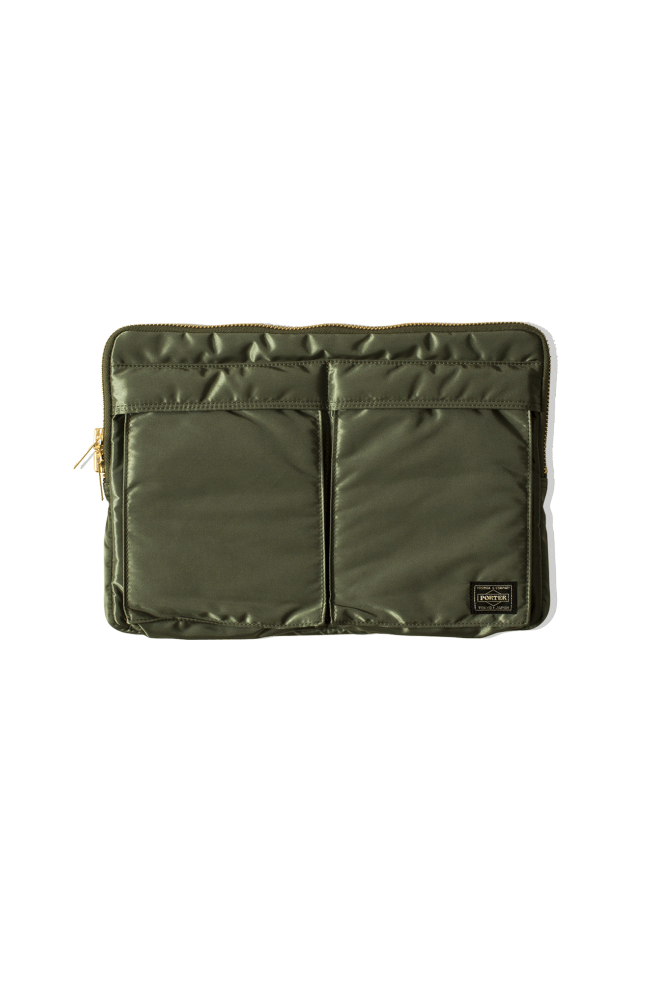 Tanker Document Case Green