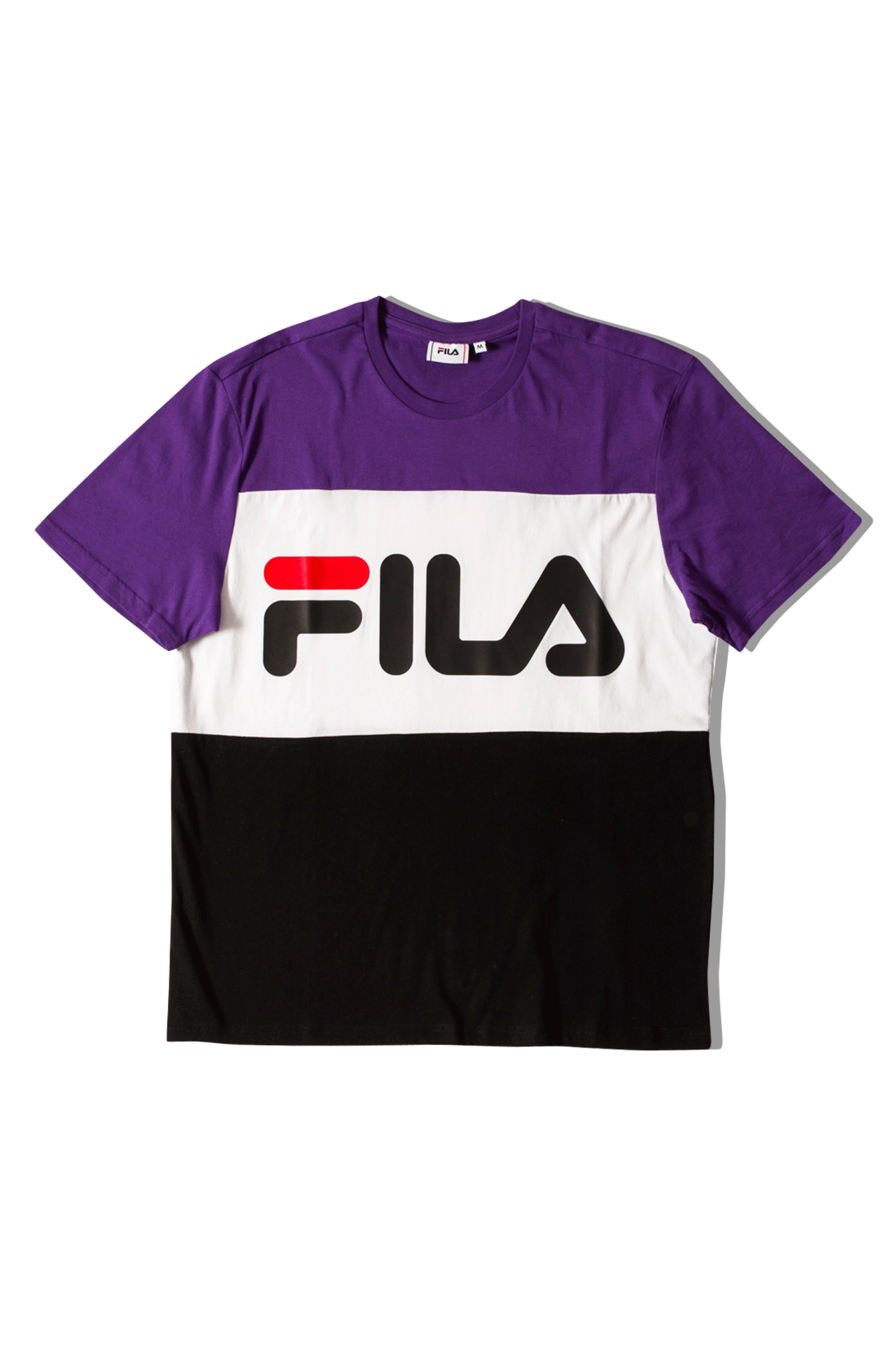 Fila T-Shirts Day Tee Black 681244A178#000#C0010#XS - One Block Down