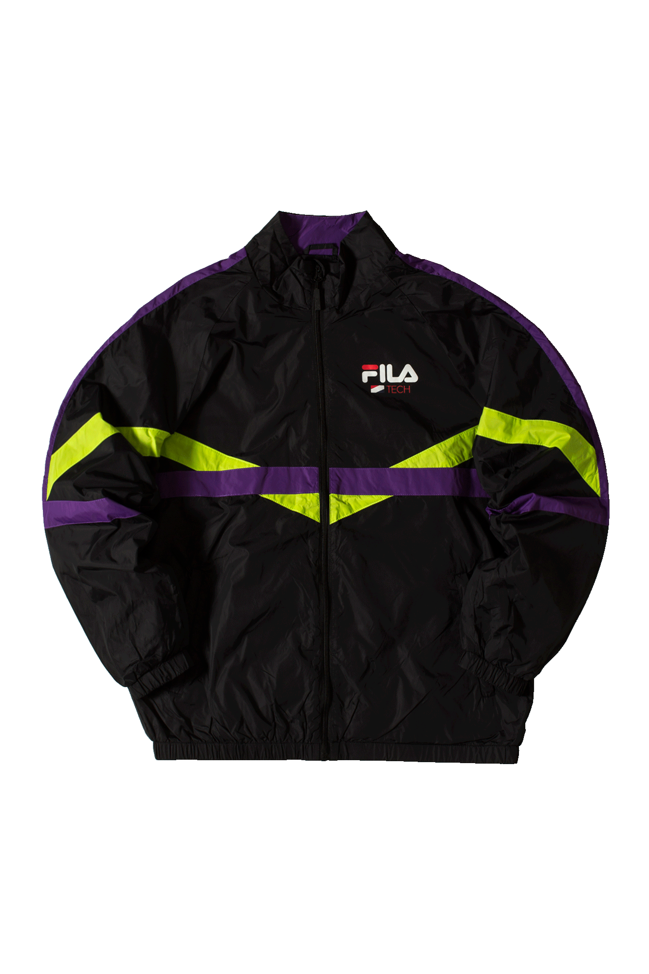 Fila Zip-up sweatshirt Regin Tracktop Black 687242#000#A244#S - One Block Down