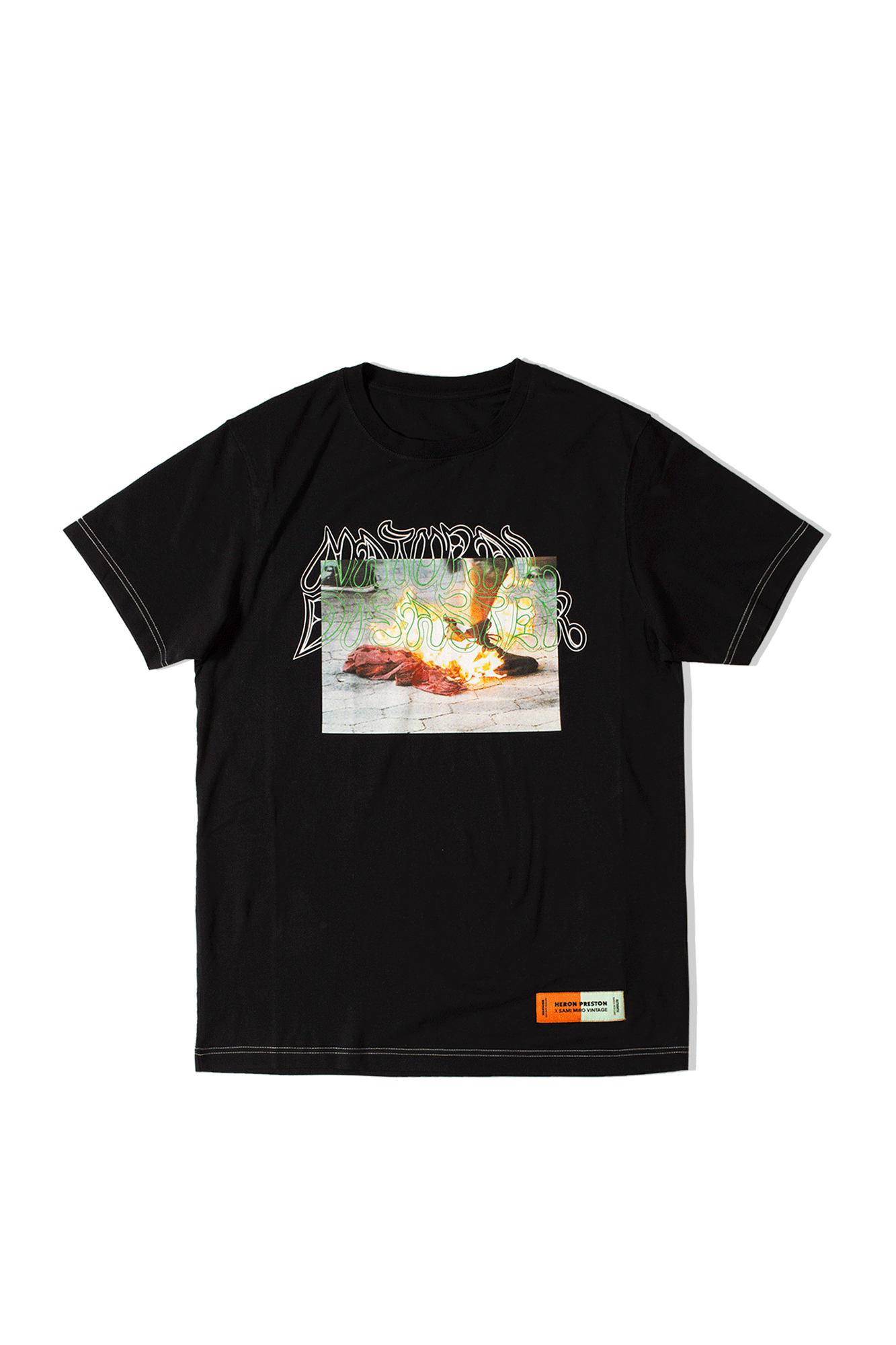 Heron Preston X Sami Miro T-Shirt Black