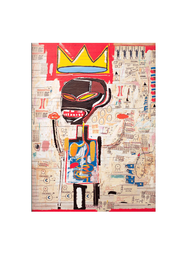 Taschen Bookshop Jean-Michel Basquiat XL Multicolor 978383657#116#2538#OS - One Block Down