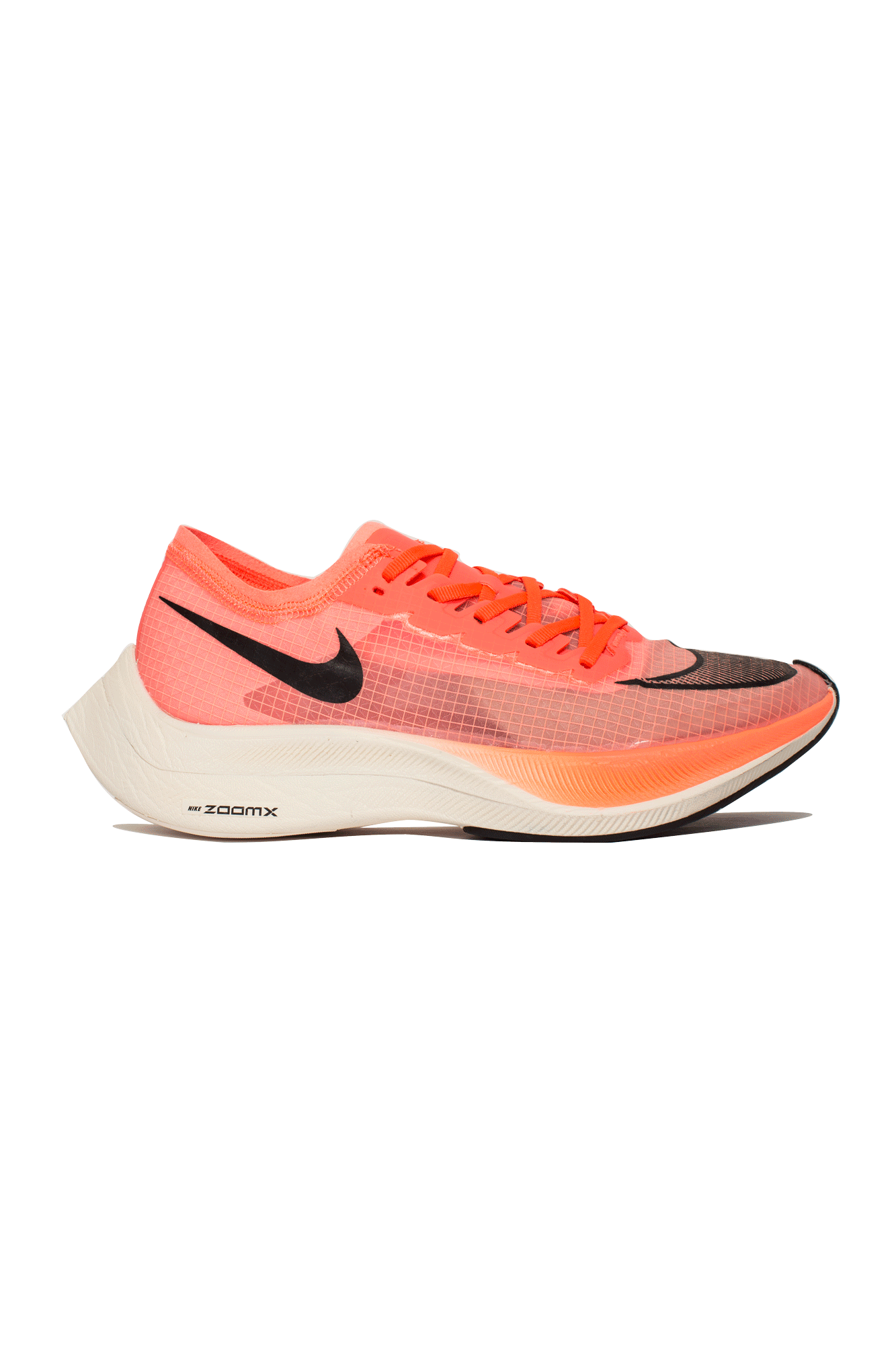 Nike Sneakers ZoomX Vaporfly Next% Orange AO4568-#000#800#7 - One Block Down