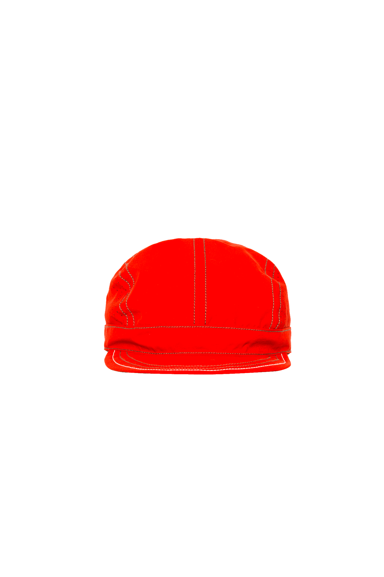 And Wander Hats Nylon Taffeta Cap Red AW91-AA088#000#RED#OS - One Block Down