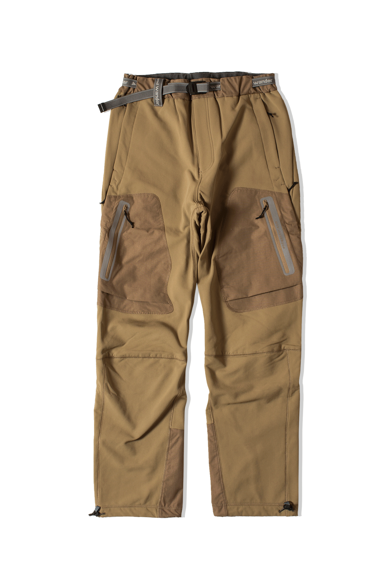 Stretch Shell Pants Brown