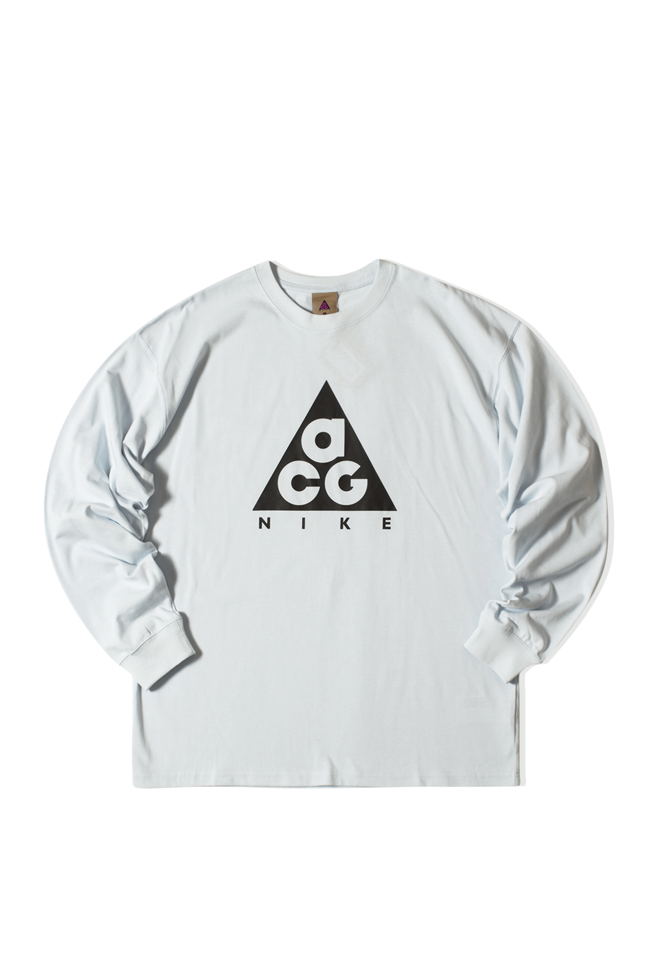 M NRG ACG Logo Long Sleeve T-Shirt Blue