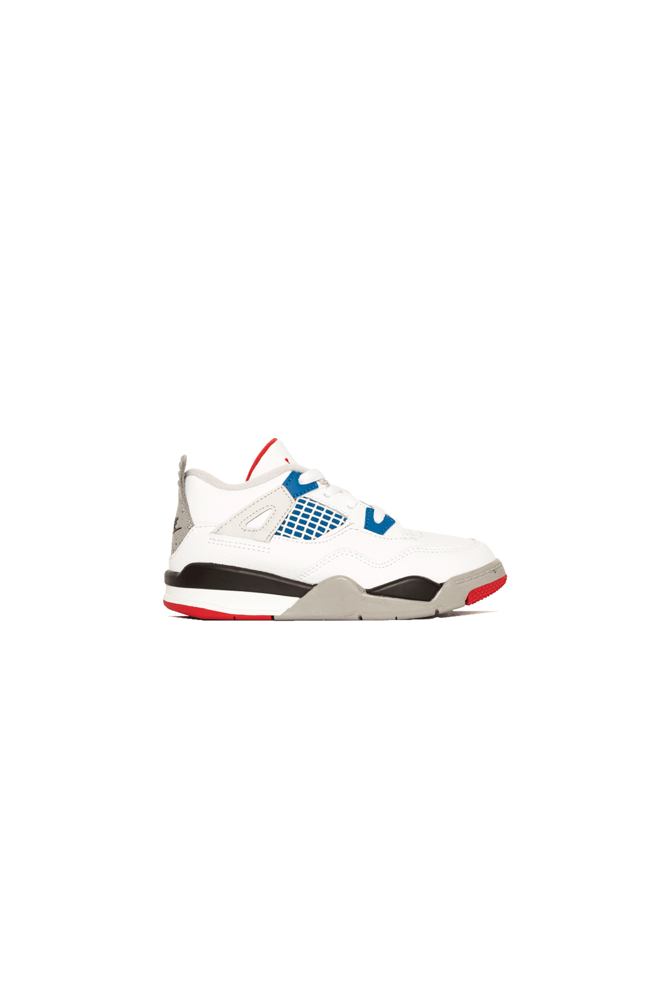 "4 Retro TD ""What The"" White"