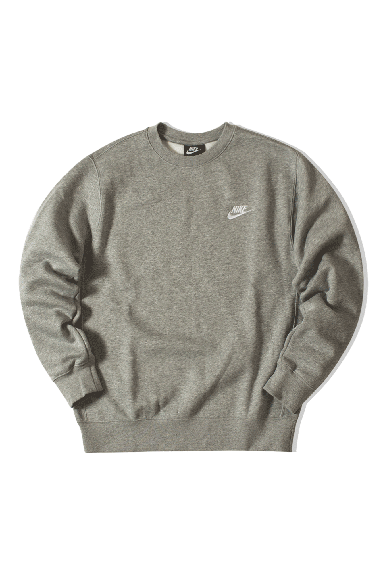 Nike Sweaters M NSW Club CRW BB Grey BV2662#000#063#S - One Block Down