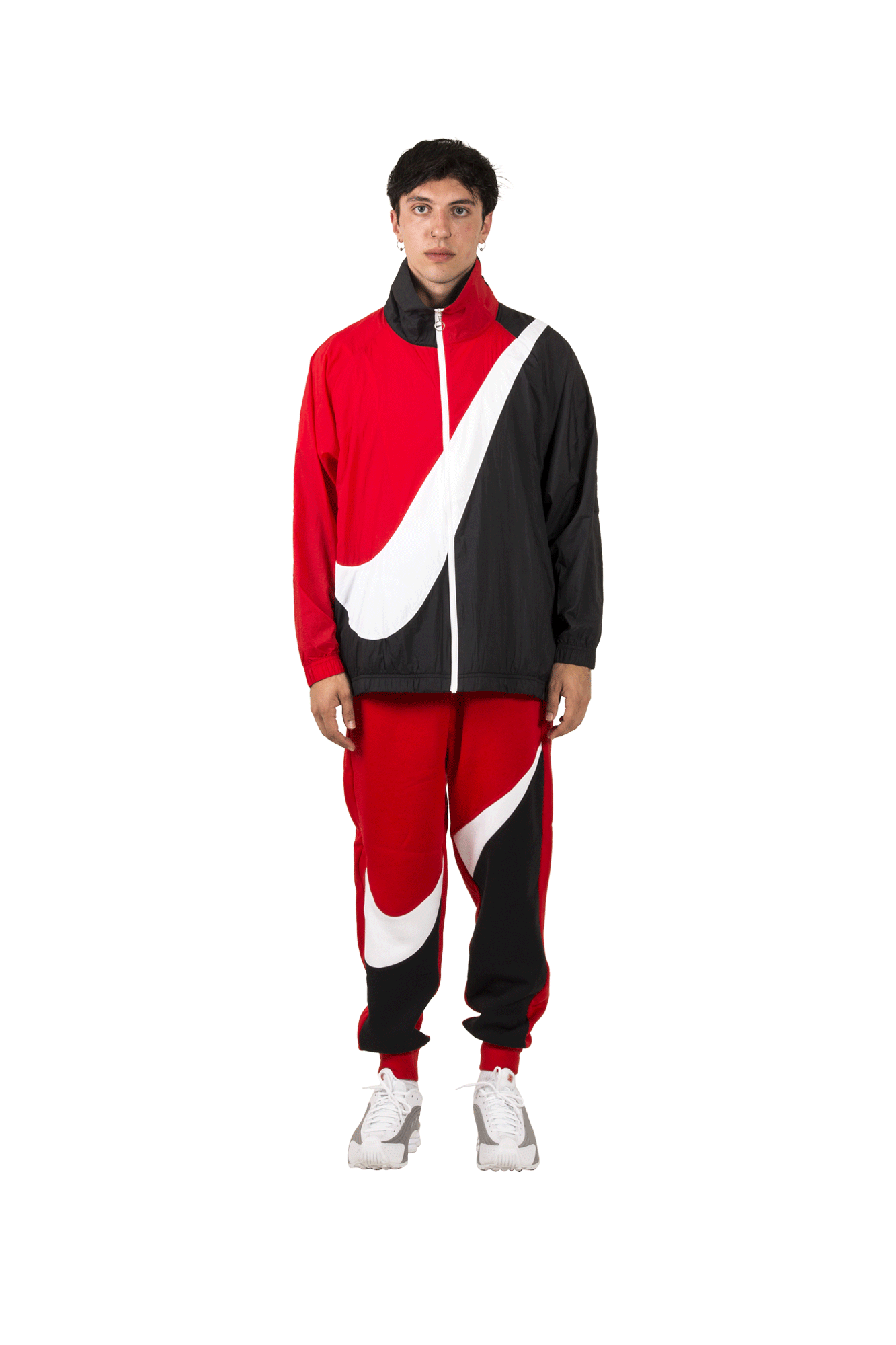 Nike Coats & Jackets W MSW SWSH Jkt WVN CB Red BV3685#000#010#XXS - One Block Down