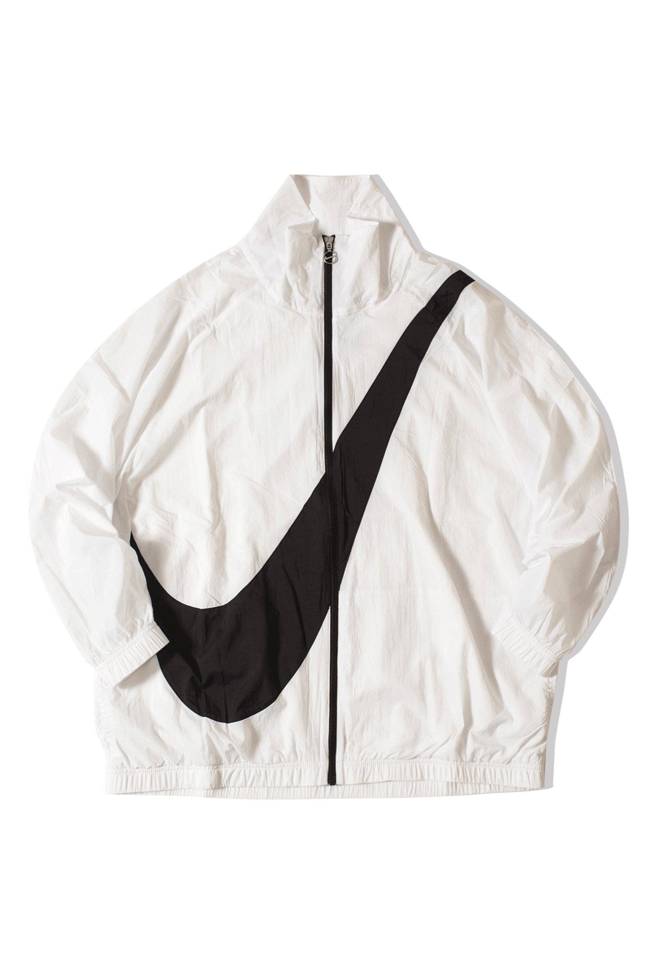 Nike Coats & Jackets W MSW SWSH Jkt WVN CB White BV3685#000#100#M - One Block Down