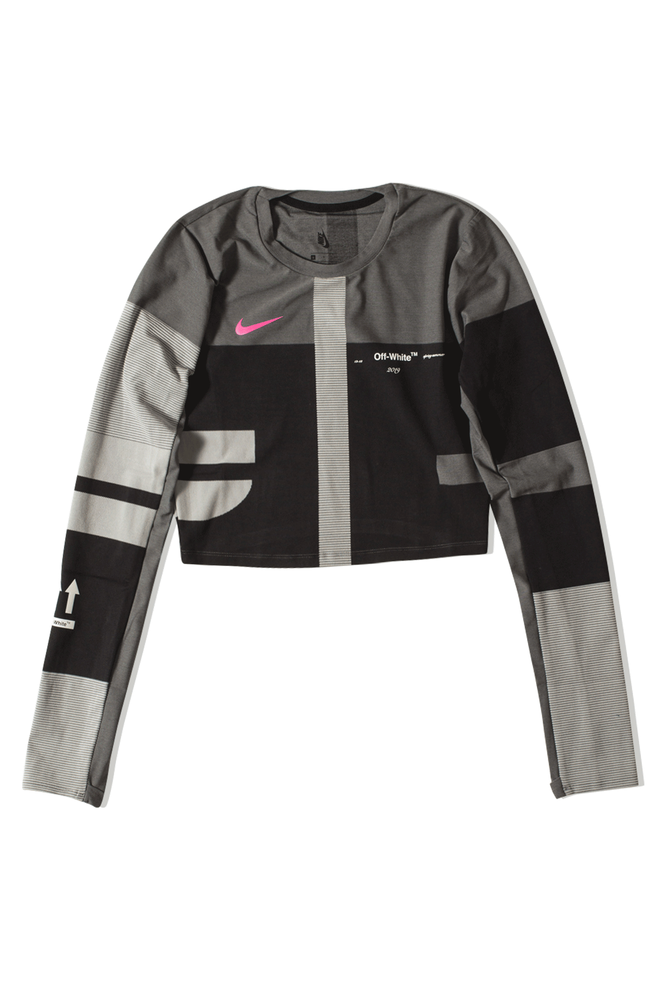 Nike Sweaters W Easy Run Top X Off-White Black BV8042#000#010#XXS - One Block Down