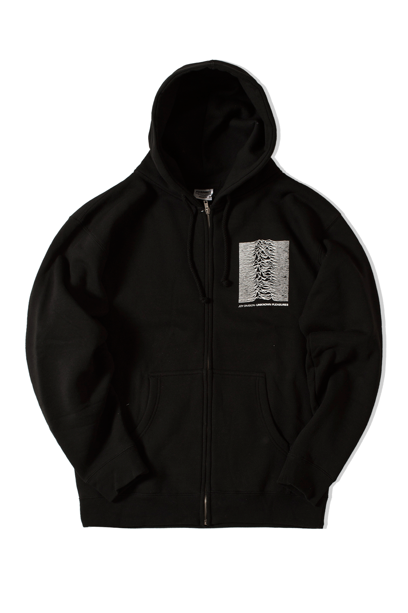 Up Zip Hoody x Joy Division Black