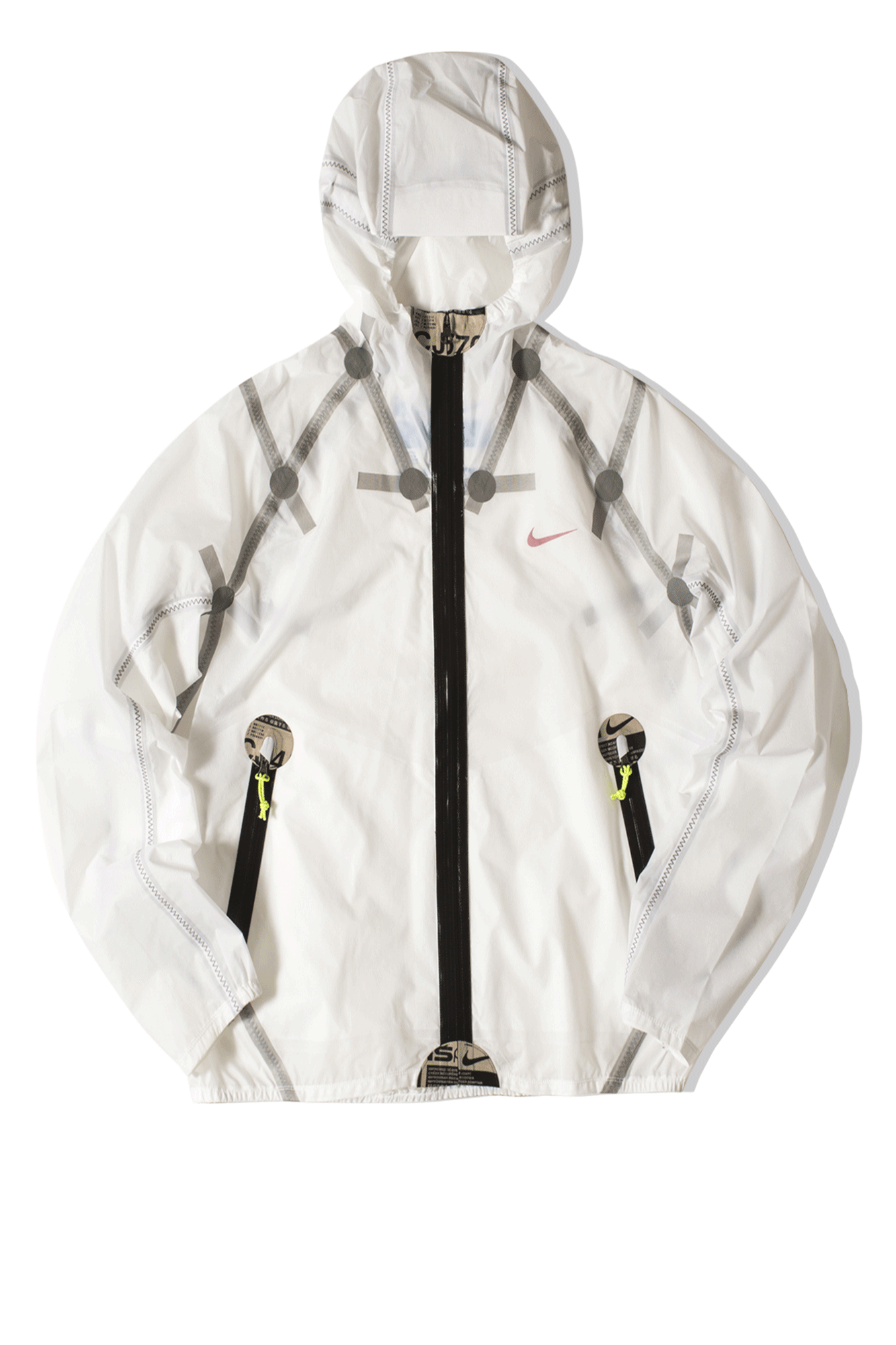 M NRG ISPA JACKET White