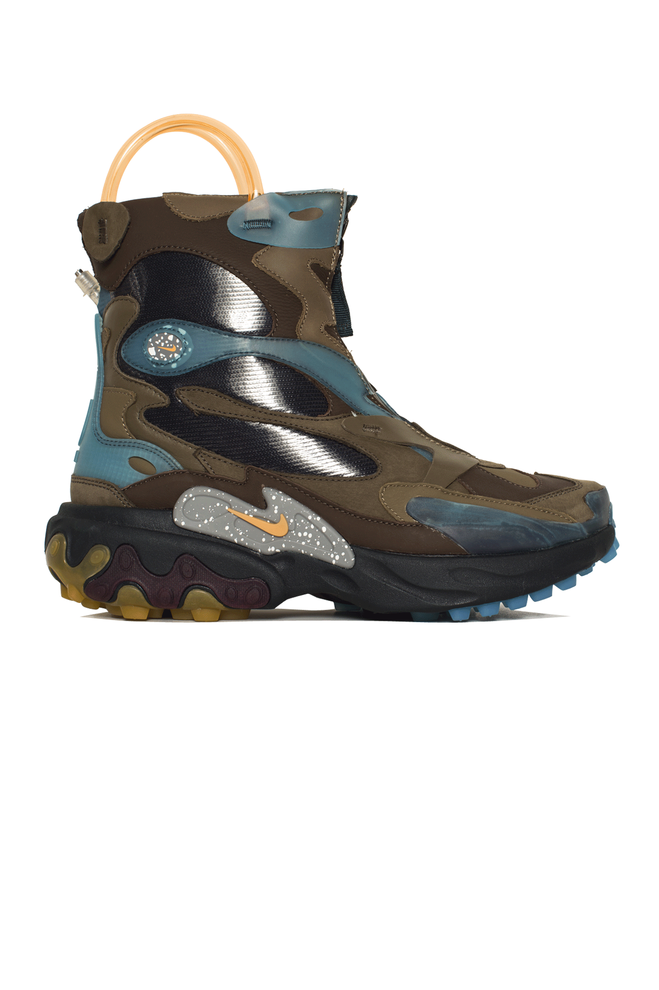 React Boot x Undercover Brown