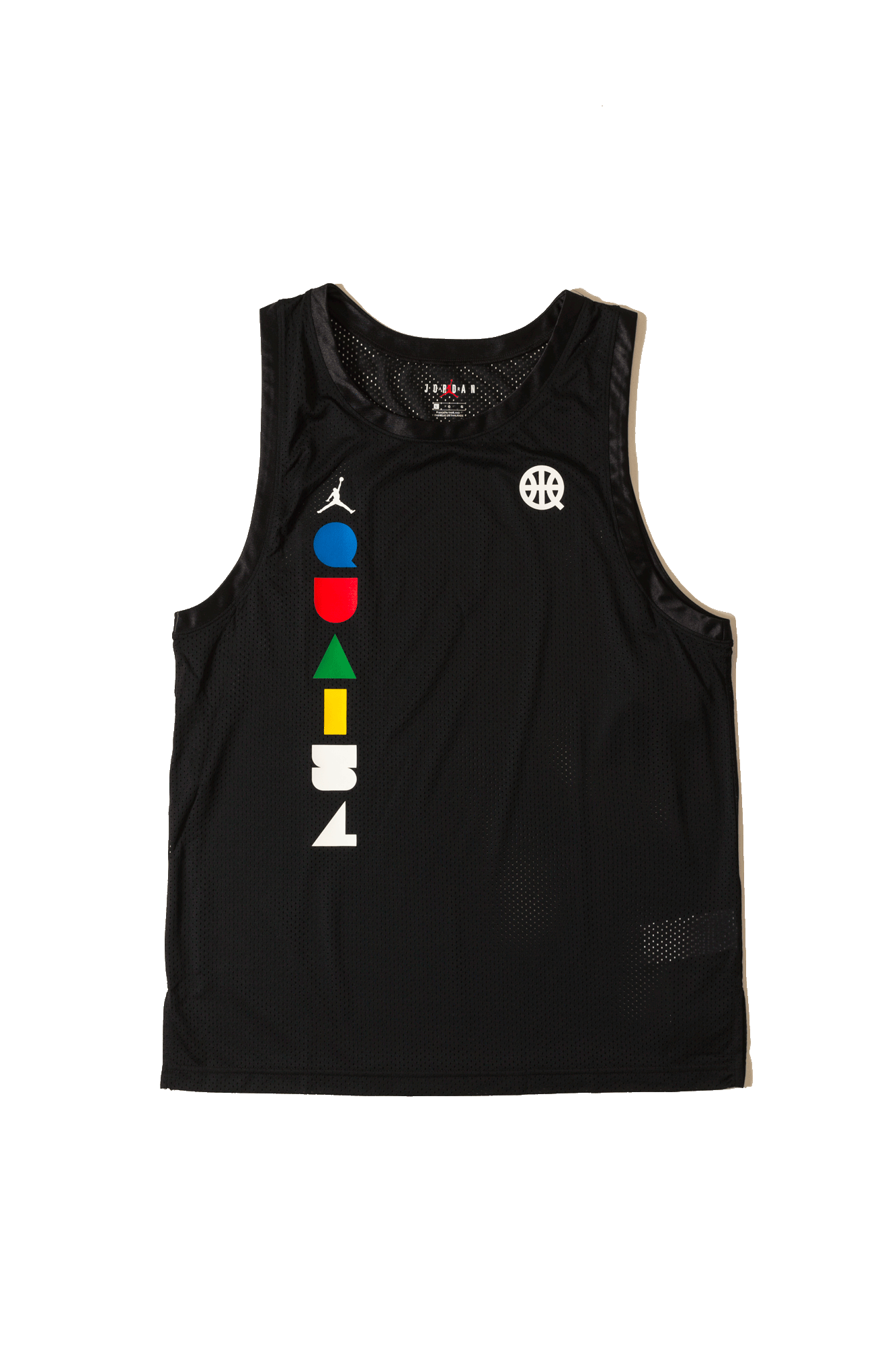 Air Jordan Tank Top Game Jersey Quay54 Black CK0491-010#000#C0010#XS - One Block Down