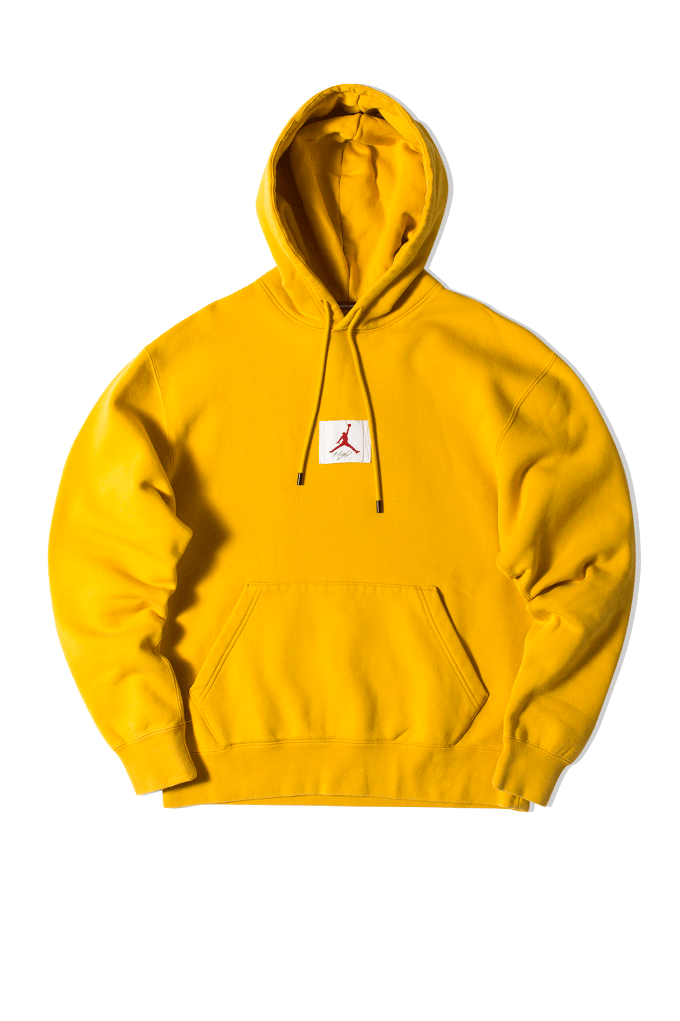 Flight Fleece Hooded Sweatshirt Yellow
