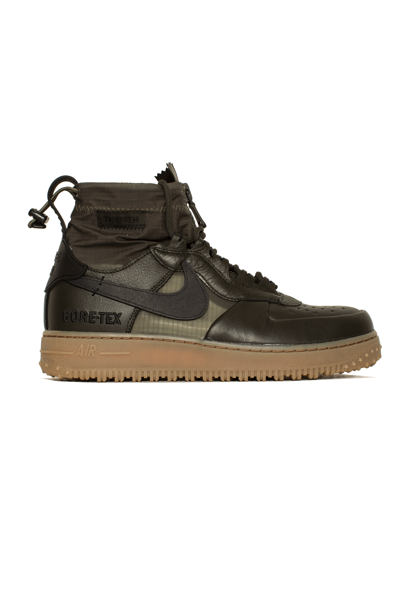 Nike Sneakers Air Force 1 Winter Gore-Tex Green CQ7211-#000#300#7 - One Block Down