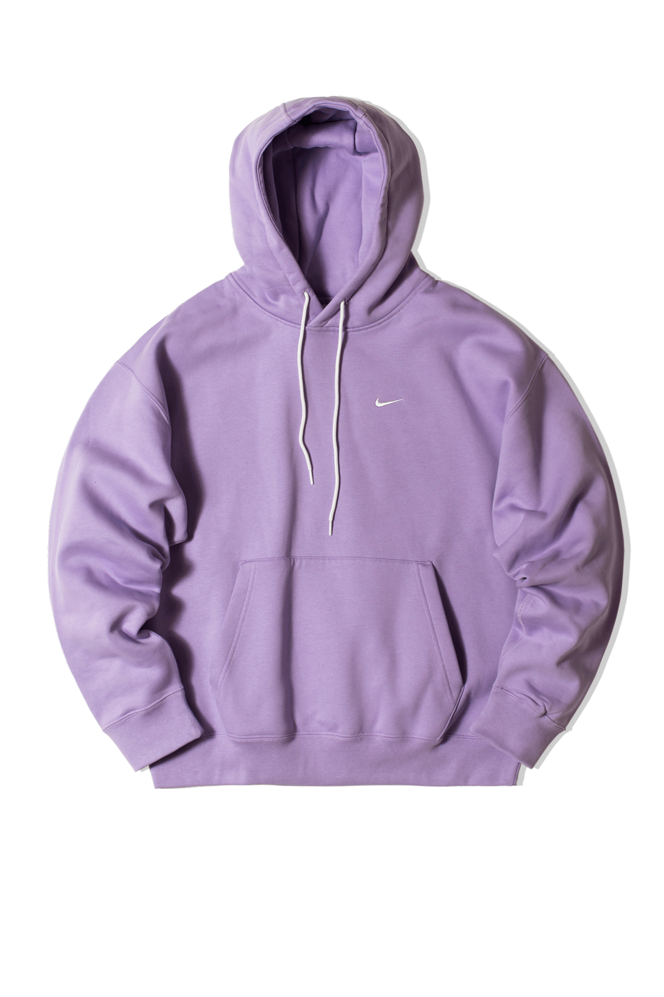 Nike Hooded sweatshirts M NRG SoloSwoosh Fleece Hooded Sweatshirt Purple CV0552-#000#563#S - One Block Down