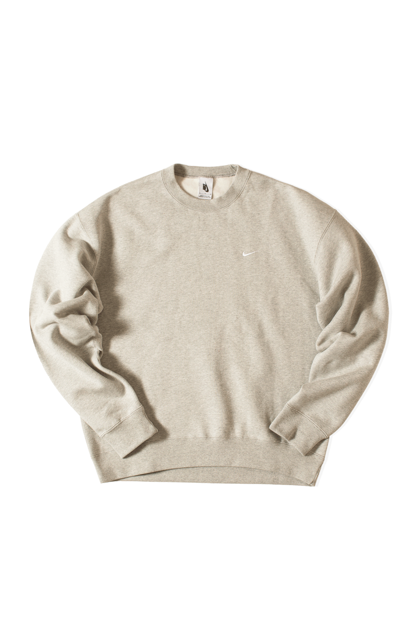 M Nrg Crewneck Sweatshirt Fleece Grey