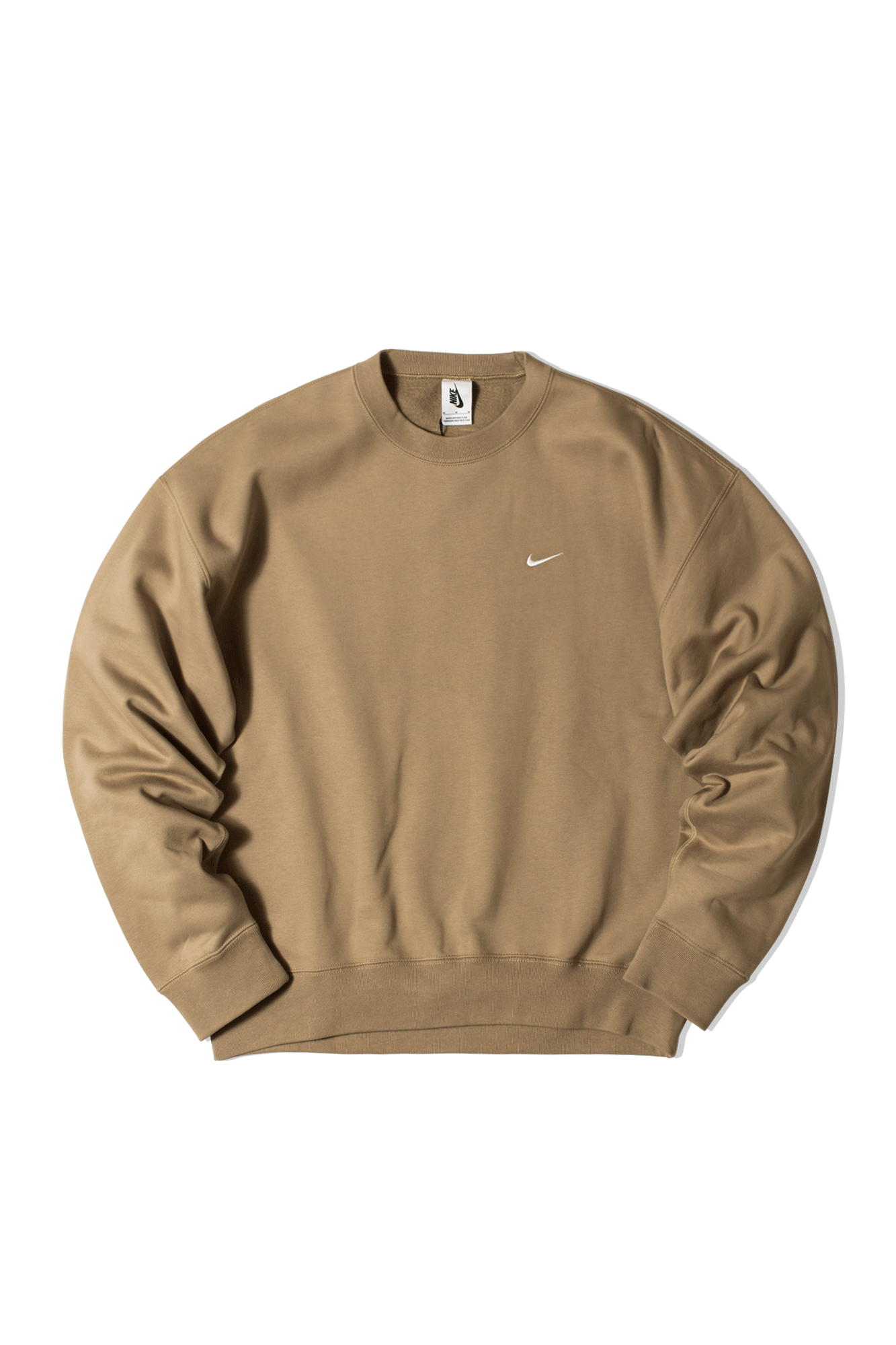 M NRG SlowSwoosh Fleece Crewneck Sweatshirt Green