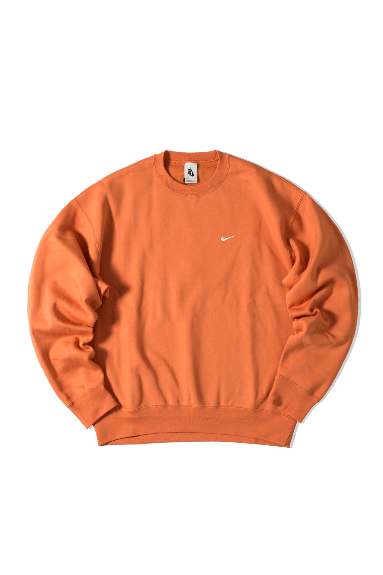 M Nrg Crewneck Sweatshirt Fleece Orange