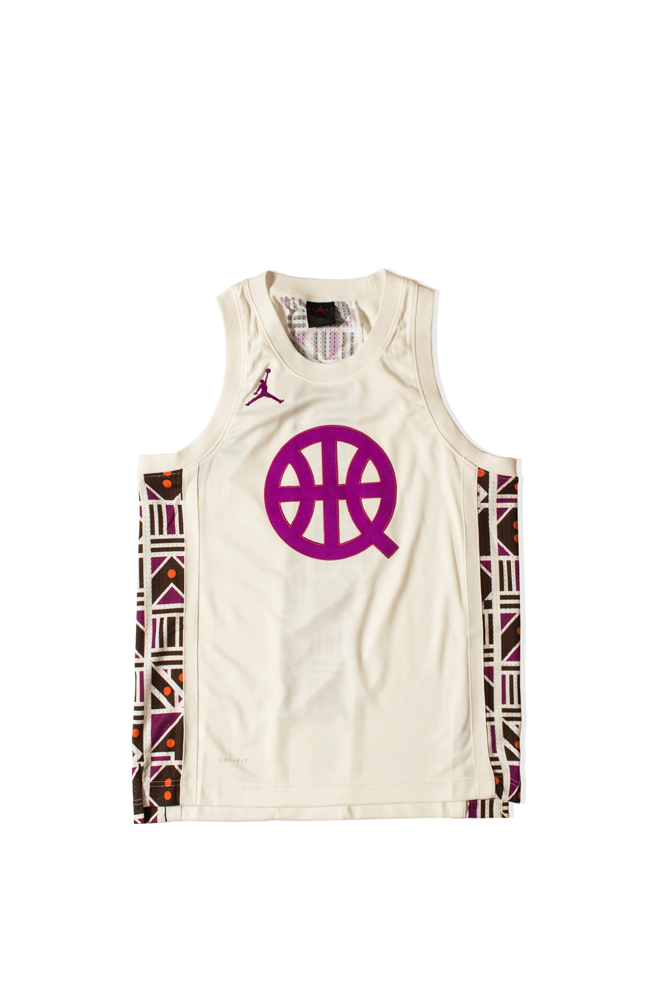 Jordan Brand Tank Top Quai 54 Air Basketball Jersey White CW4094-#000#133#S - One Block Down