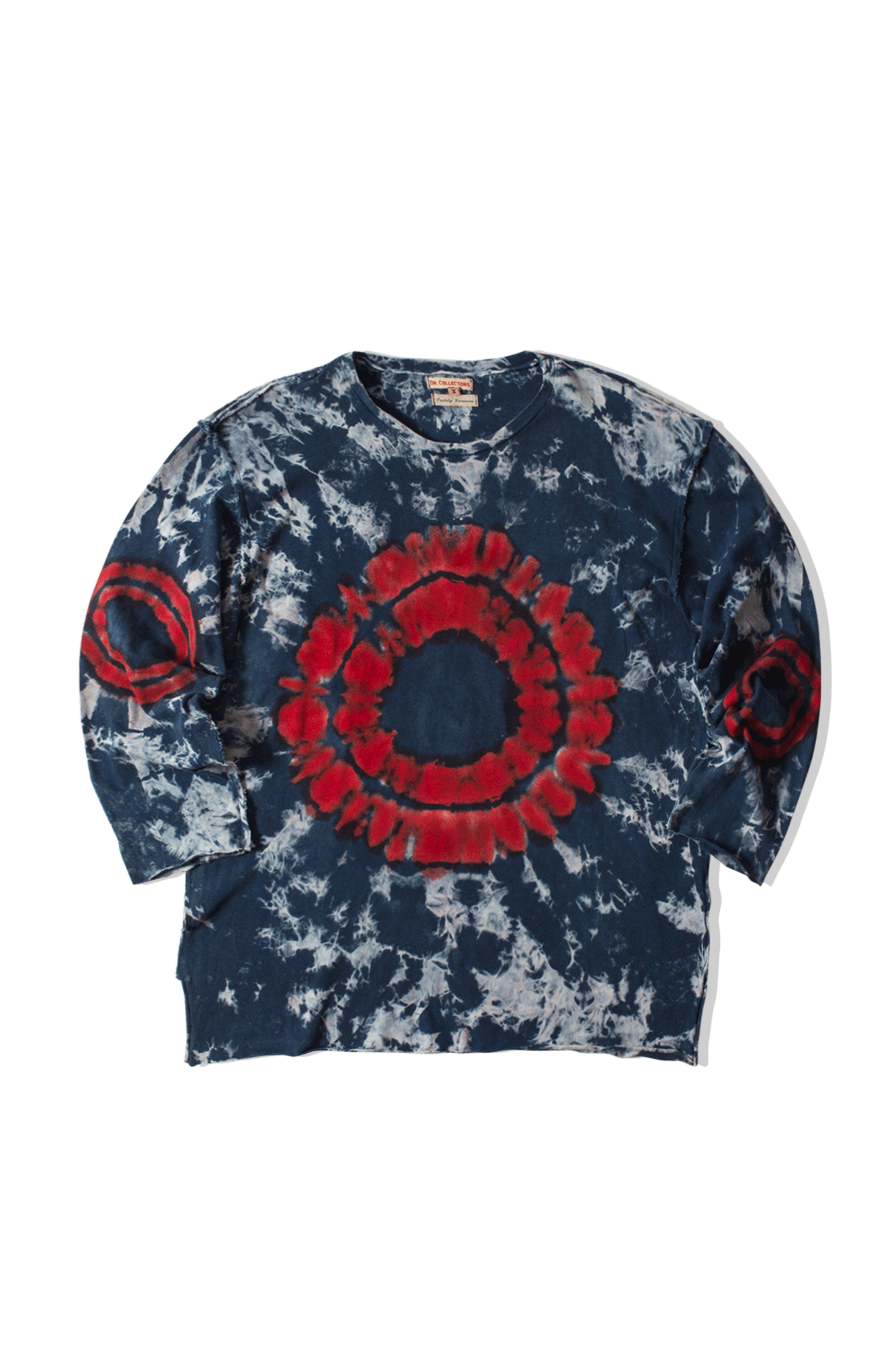 Dr. Collectors Long sleeve T-Shirts Frisco Longsleeve Shibori Red FRISCOT#SHIBORI#RED#XS - One Block Down