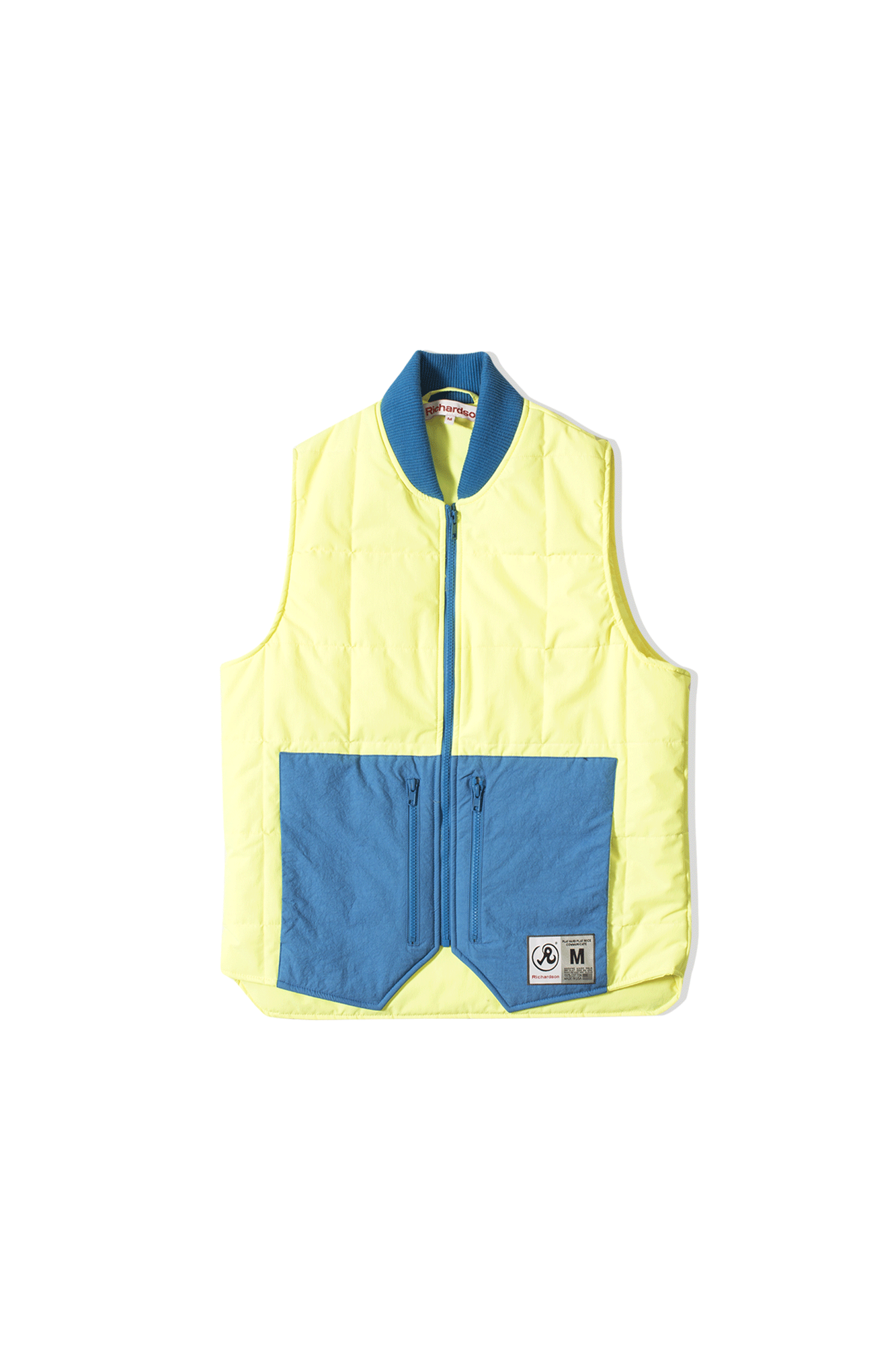 Quilted Vest Yellow